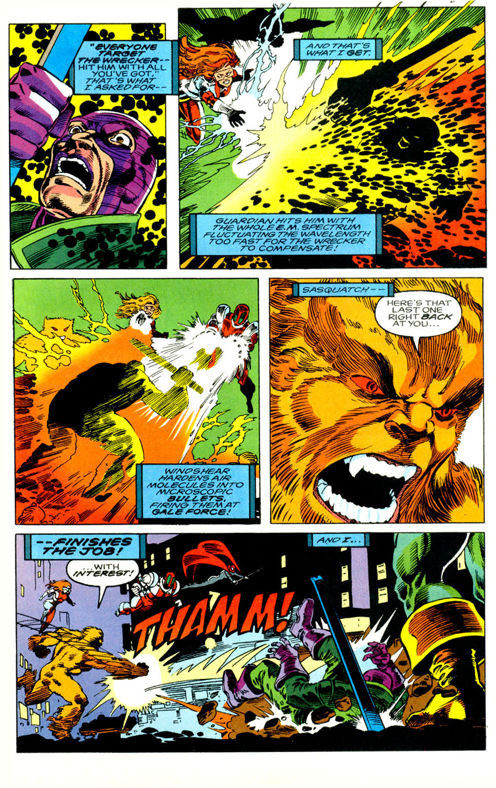 Read online Alpha Flight (1983) comic -  Issue #119 - 23