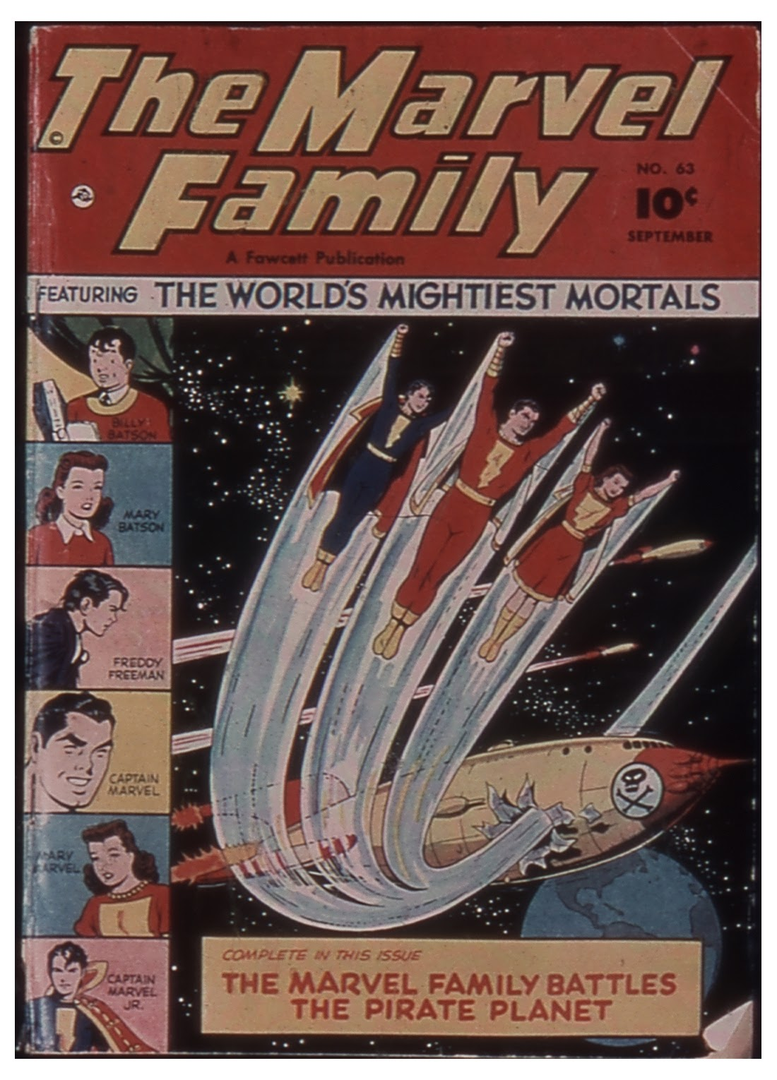 The Marvel Family 63 Page 1