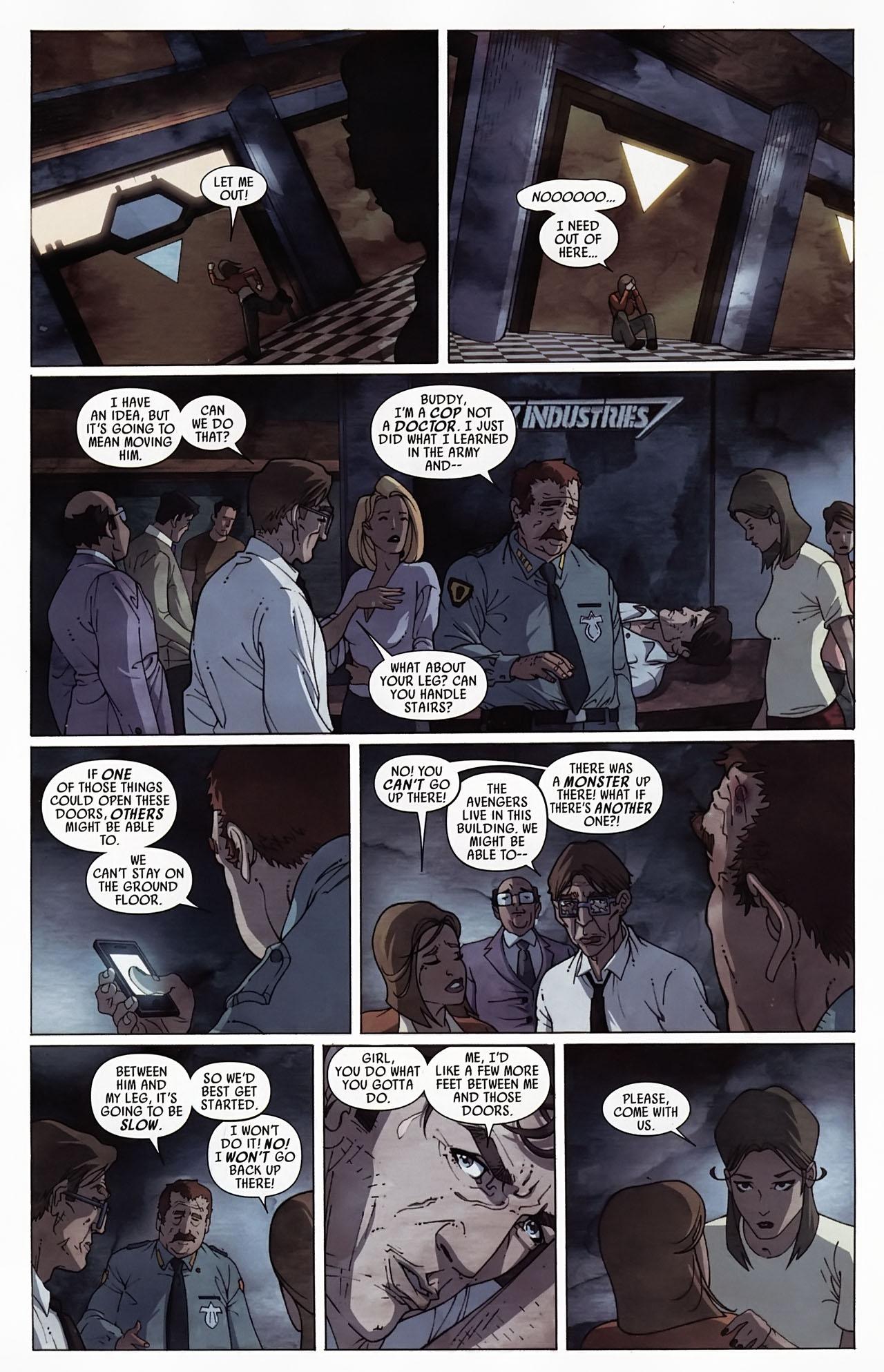 Read online Secret Invasion: Front Line comic -  Issue #4 - 17