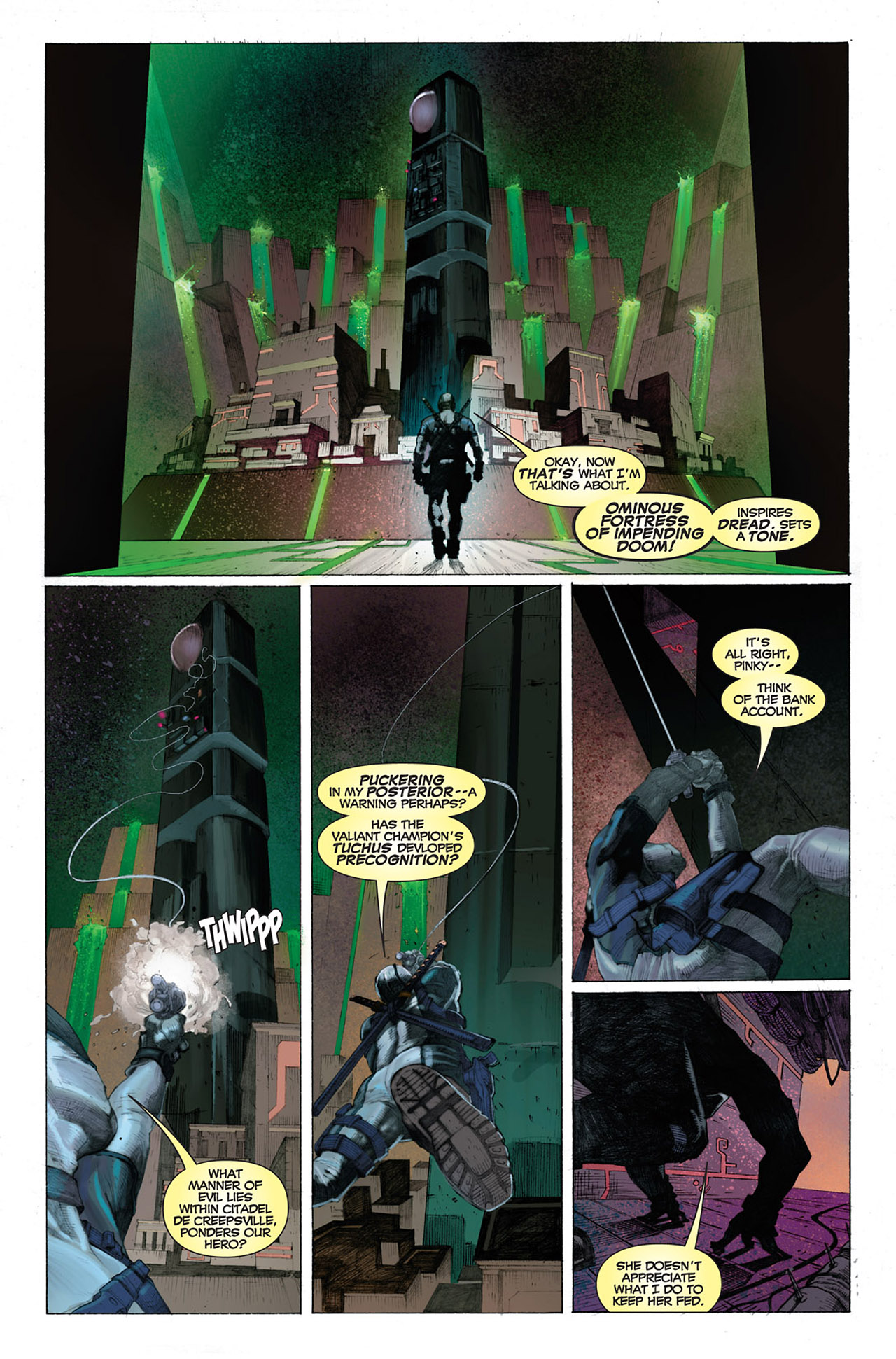 Read online Uncanny X-Force (2010) comic -  Issue #1 - 4