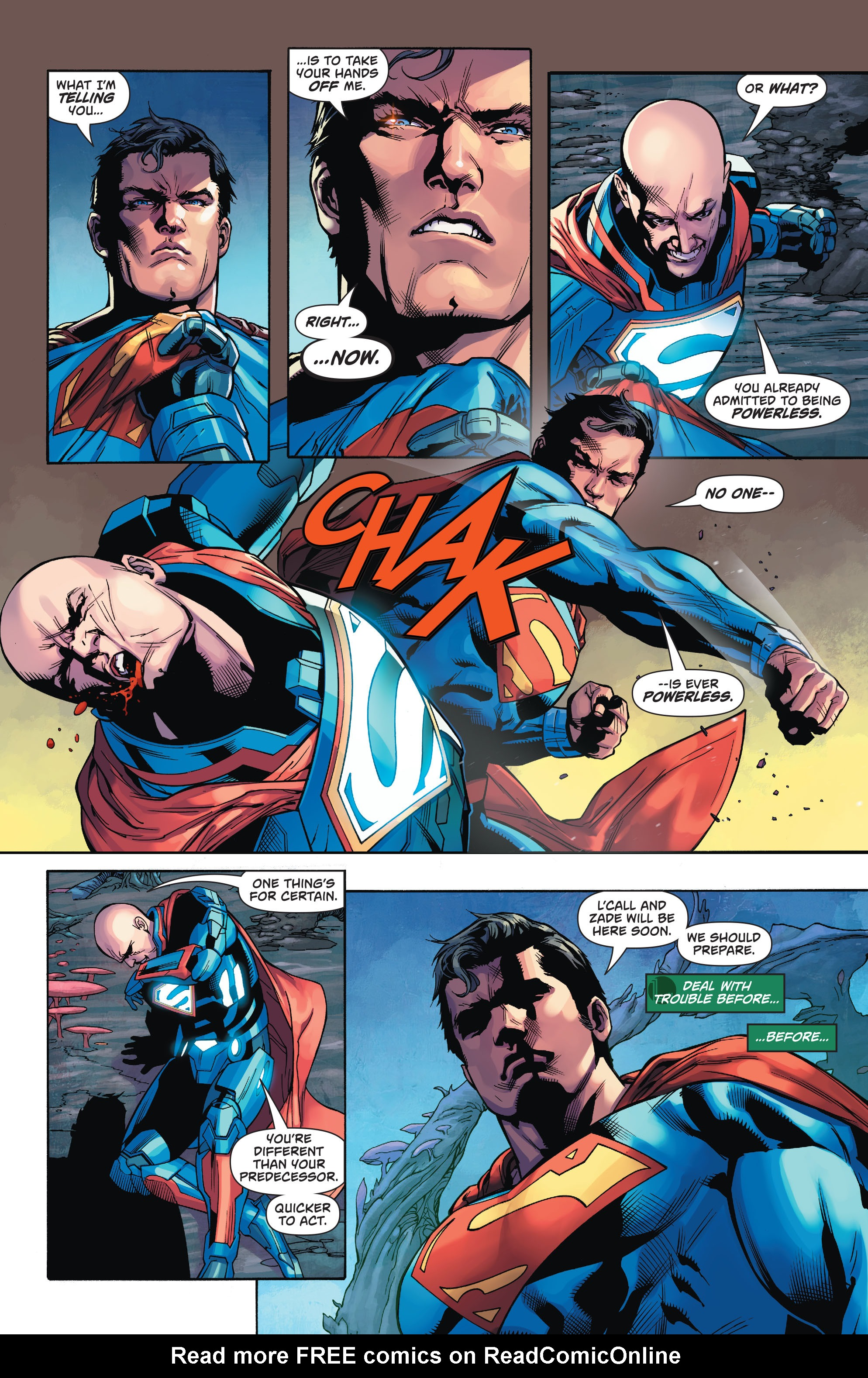 Read online Action Comics (2016) comic -  Issue #971 - 16