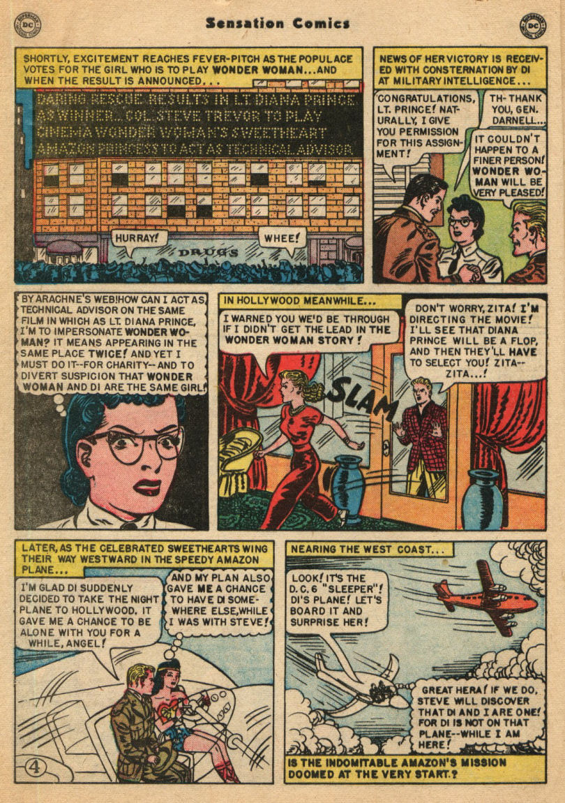 Read online Sensation (Mystery) Comics comic -  Issue #100 - 6