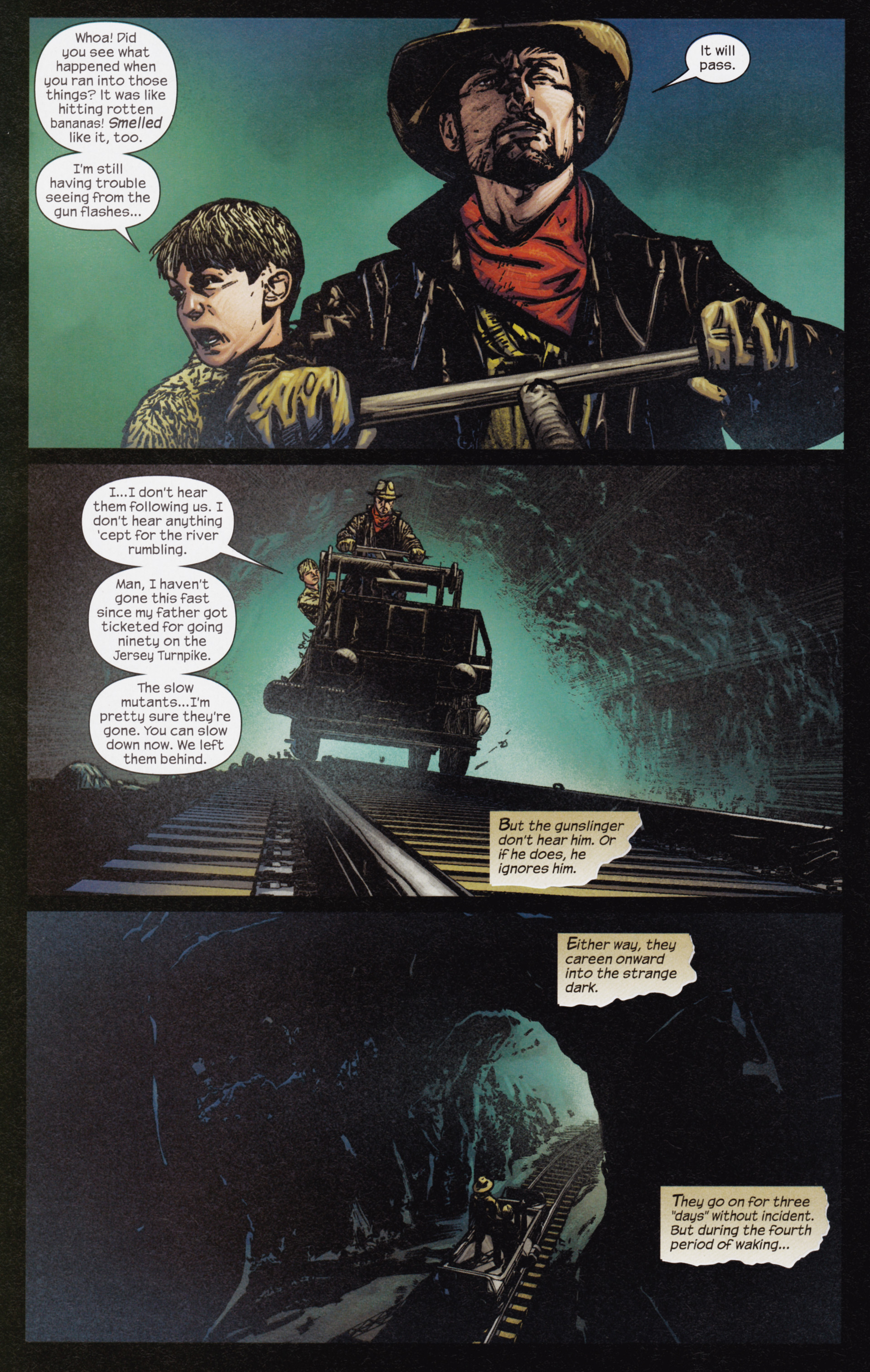 Read online Dark Tower: The Gunslinger - The Man in Black comic -  Issue #3 - 13
