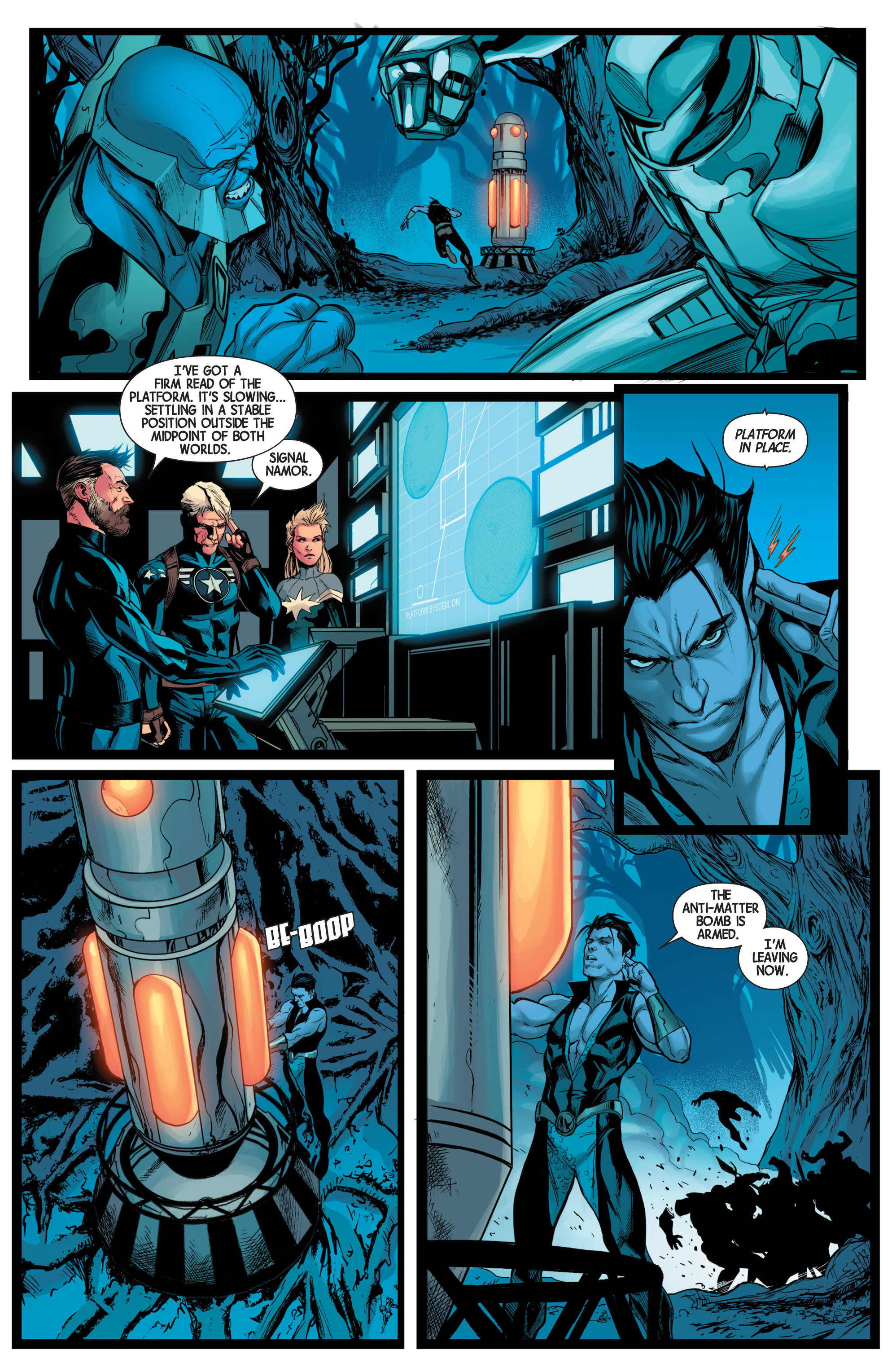 Read online Avengers (2013) comic -  Issue #40 - 22