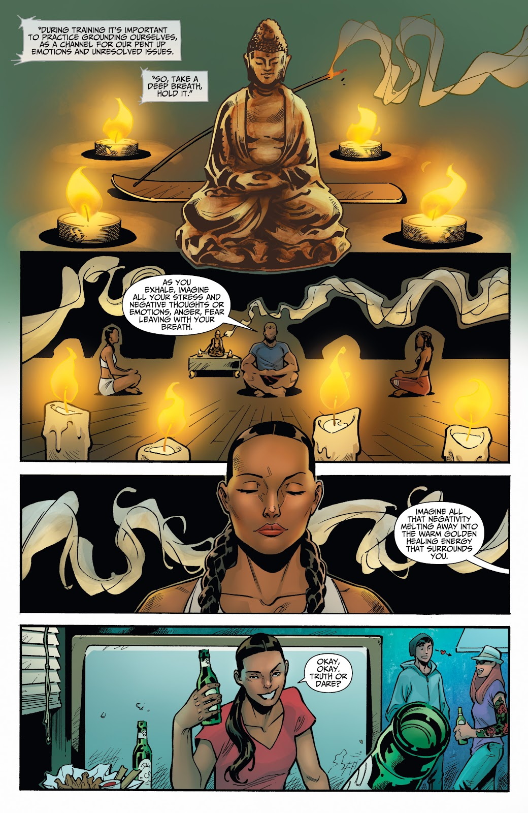 Read online Incidentals comic -  Issue #16 - 18
