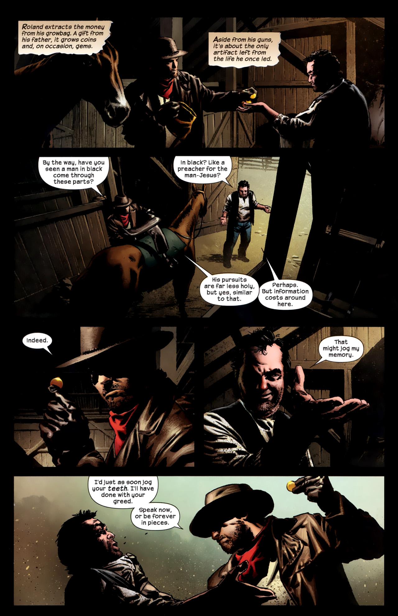 Read online Dark Tower: The Gunslinger - The Battle of Tull comic -  Issue #1 - 8