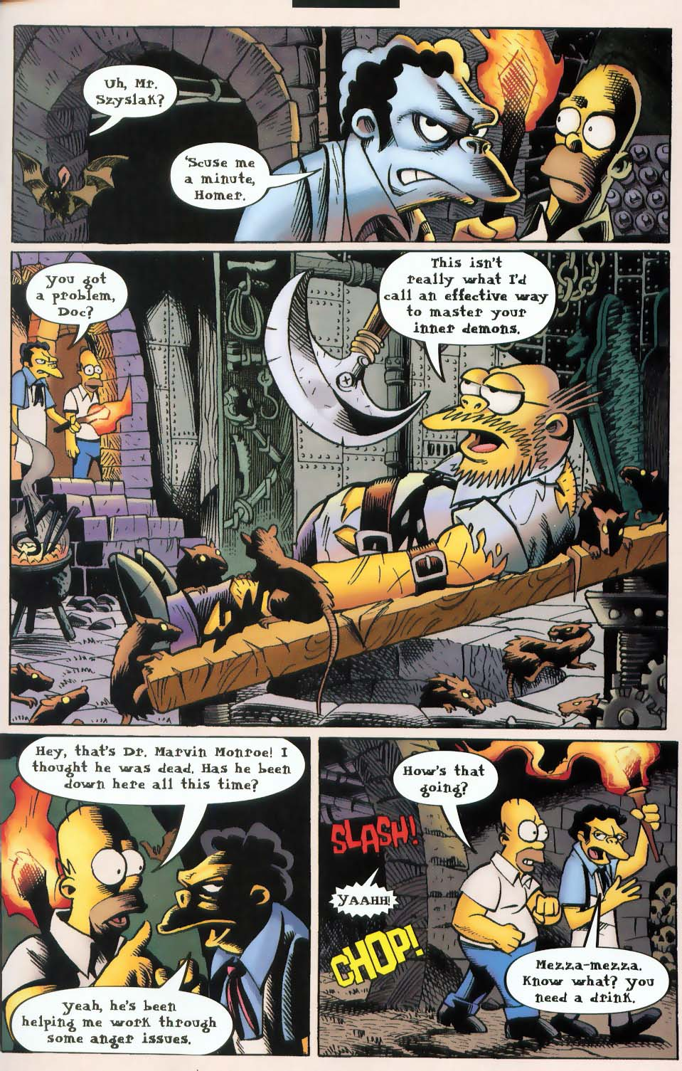 Read online Treehouse of Horror comic -  Issue #9 - 27