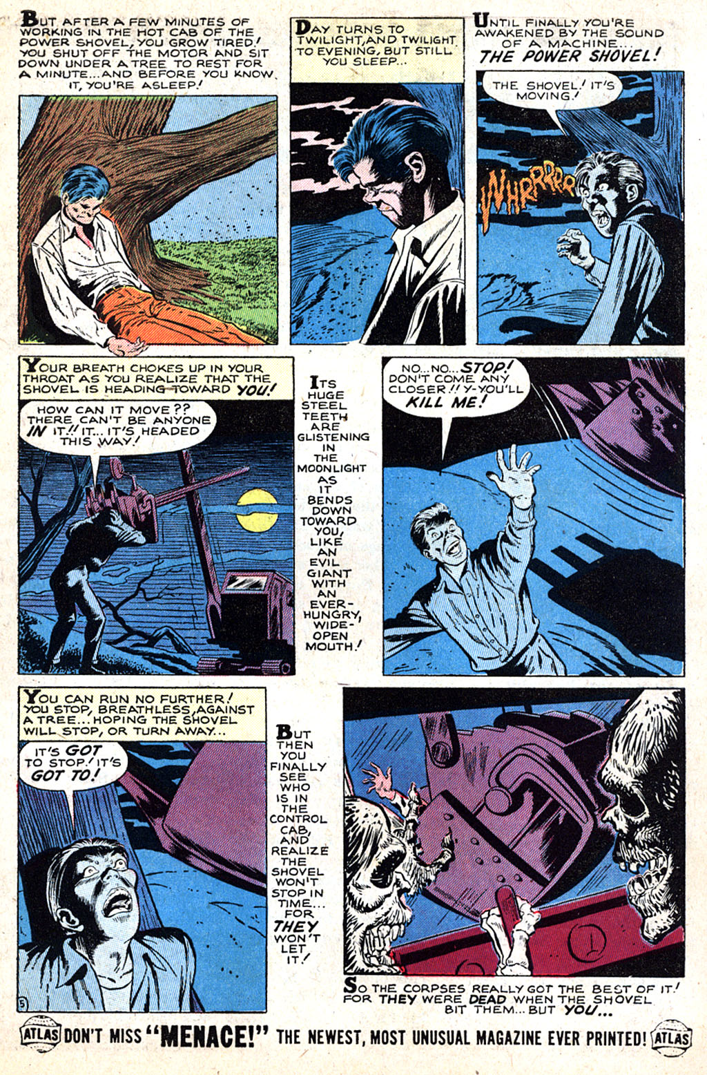 Read online Adventures into Weird Worlds comic -  Issue #17 - 7
