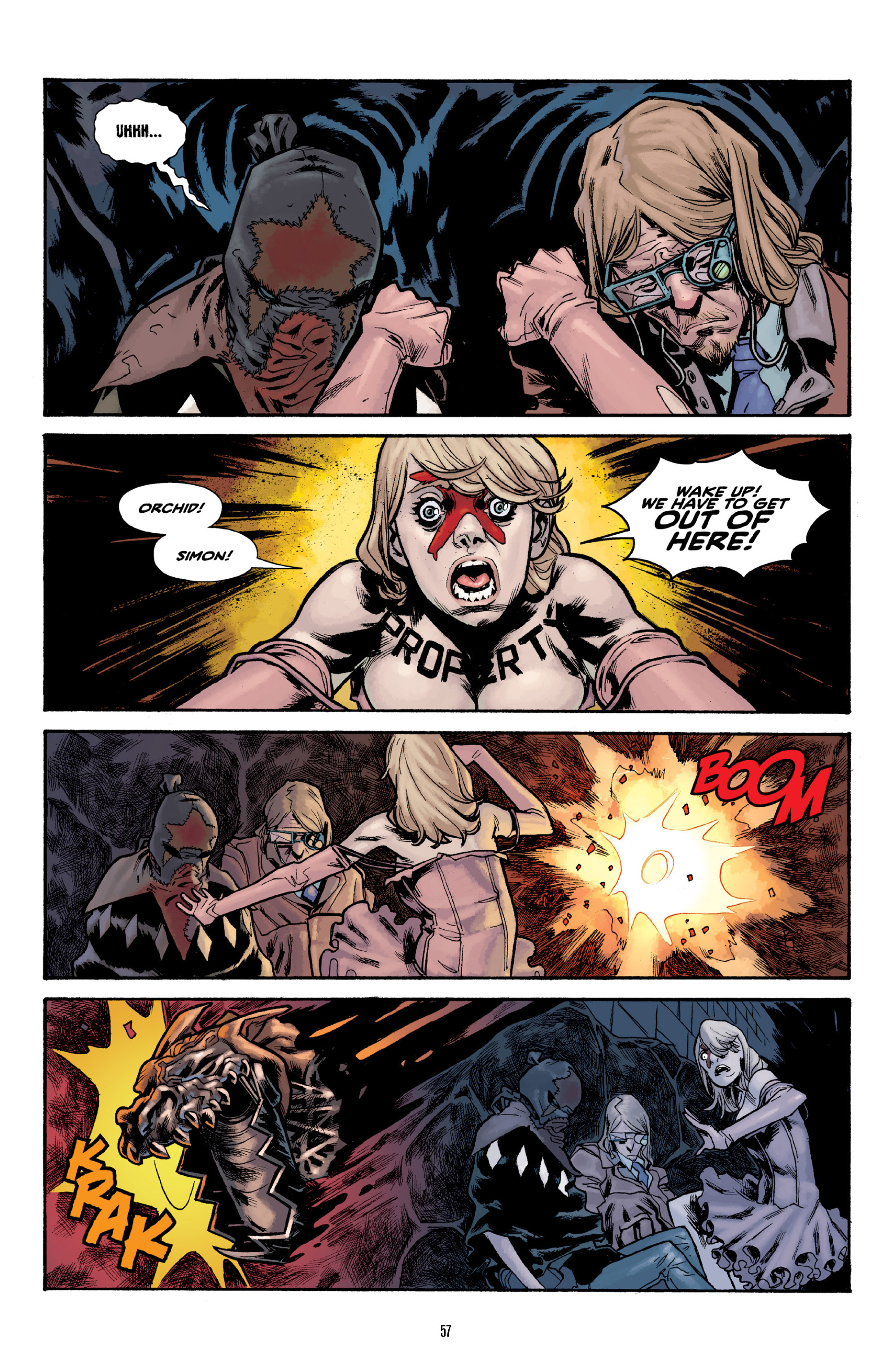 Read online Orchid comic -  Issue # TPB 3 - 56