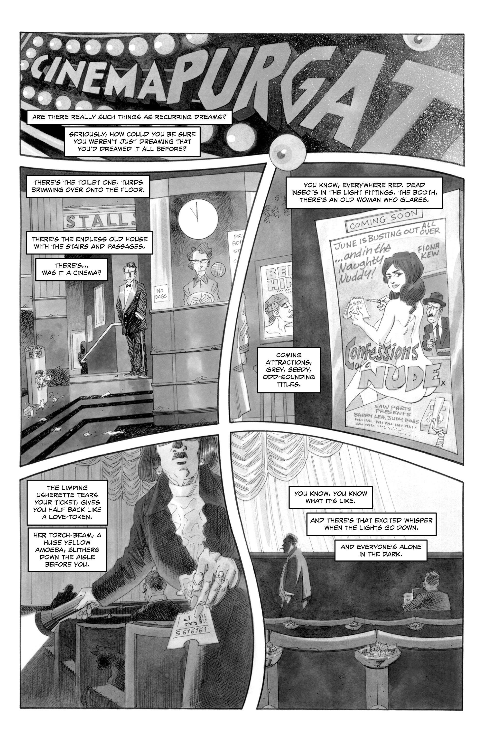 Read online Alan Moore's Cinema Purgatorio comic -  Issue #1 - 5