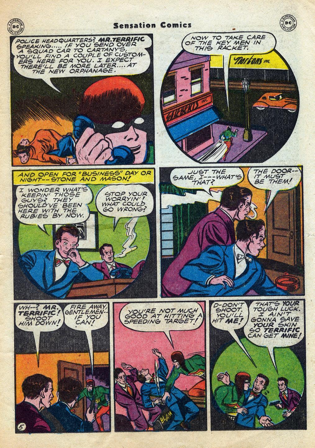 Read online Sensation (Mystery) Comics comic -  Issue #60 - 37