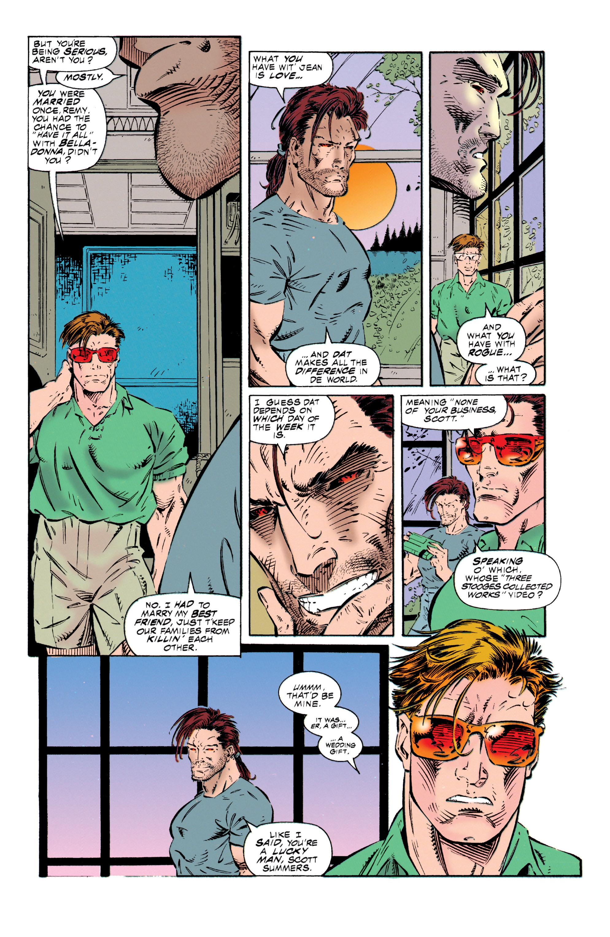 Read online Uncanny X-Men (1963) comic -  Issue #318 - 21