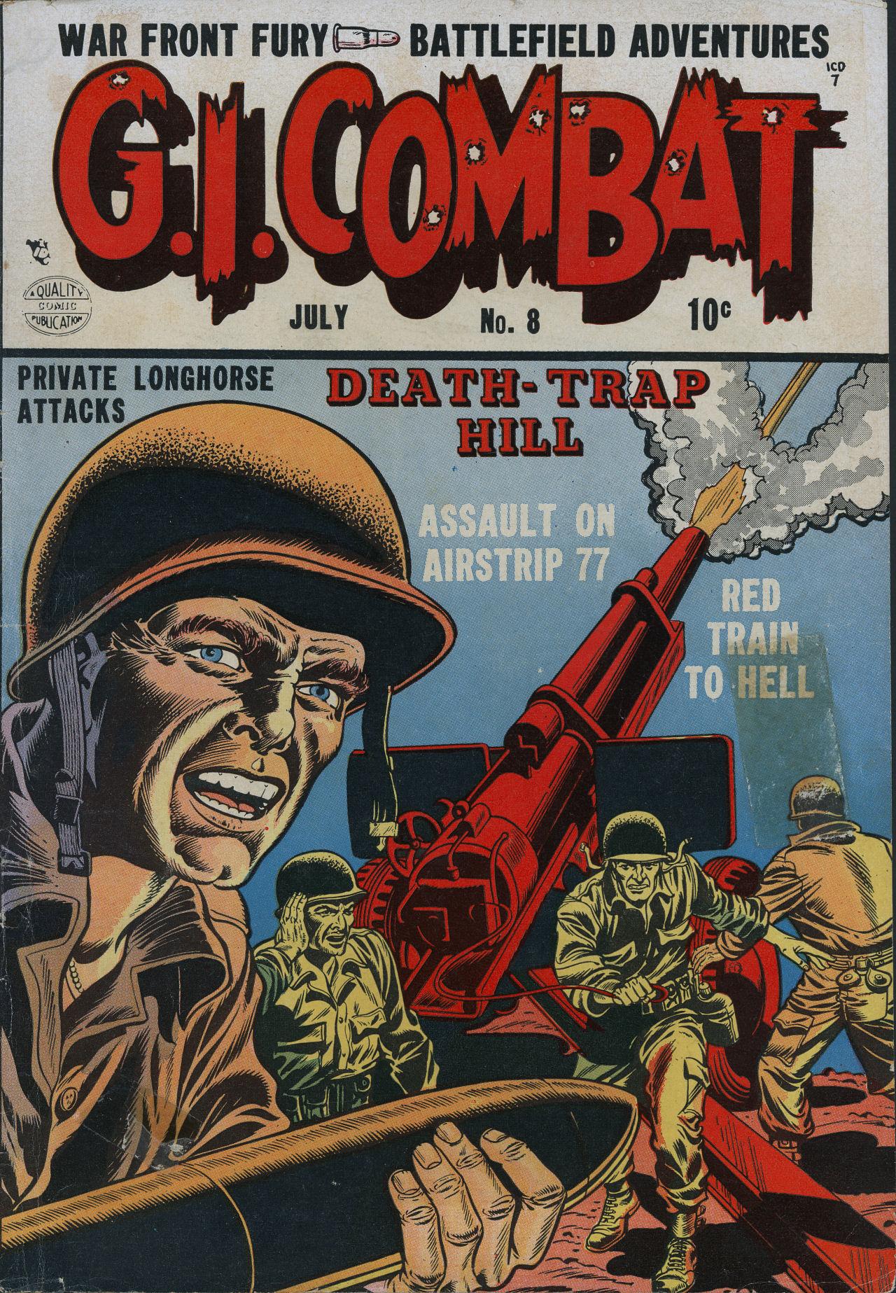G.I. Combat (1952) 8 Page 1