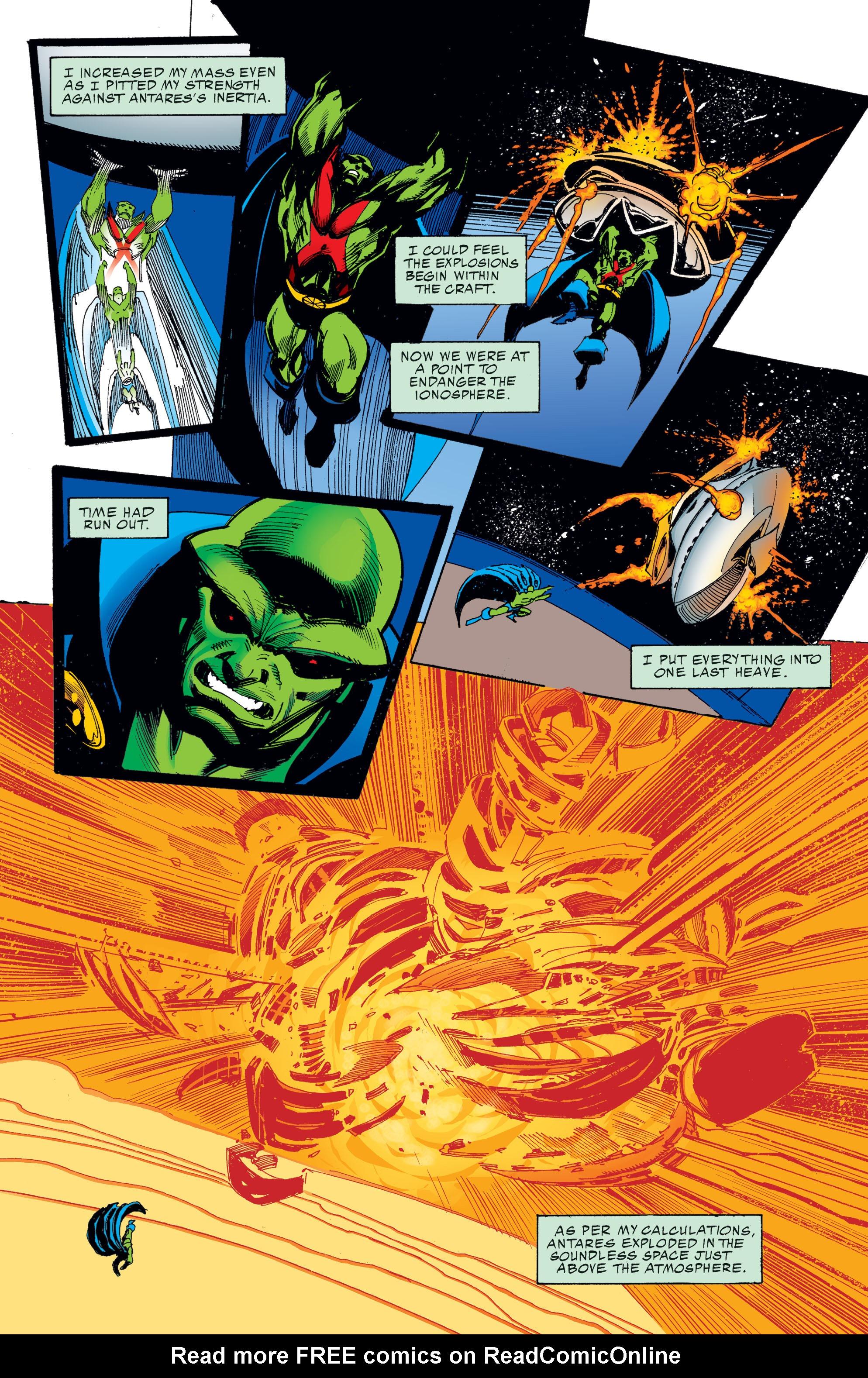 Read online Martian Manhunter: Son of Mars comic -  Issue # TPB - 75