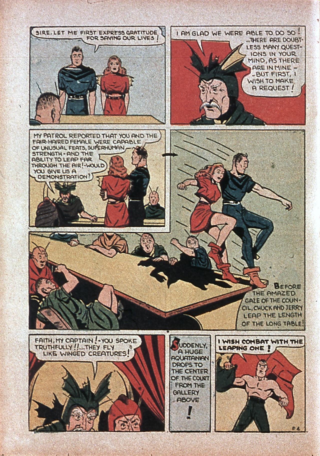 Read online Amazing Man Comics comic -  Issue #7 - 49