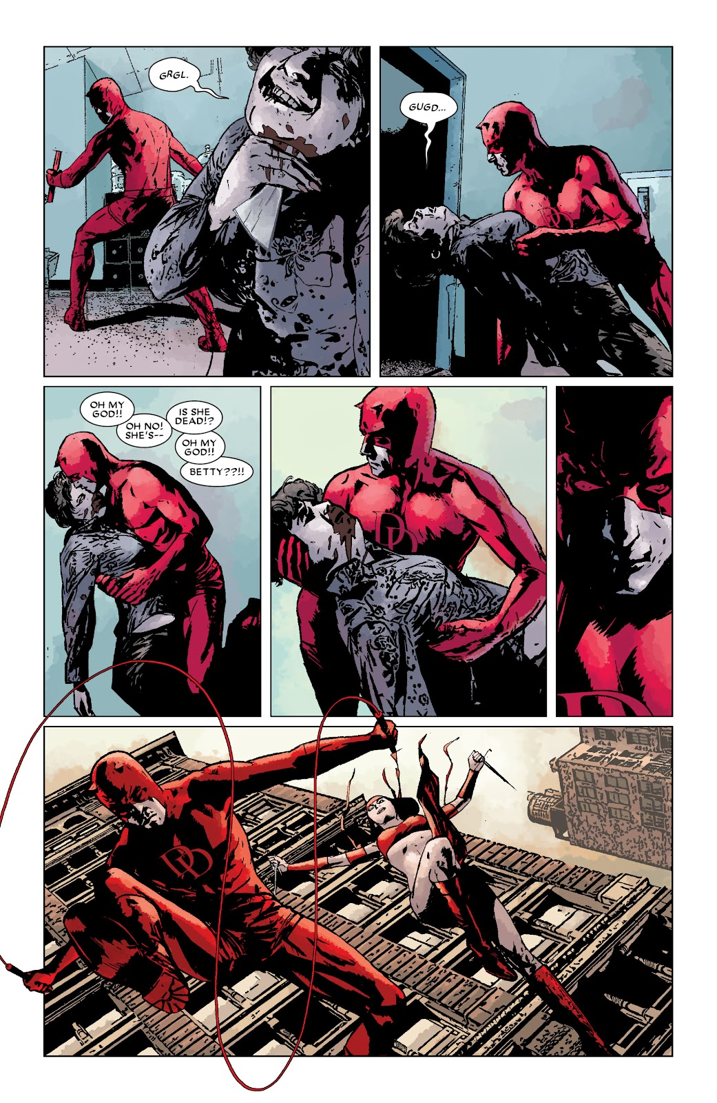 Read online Daredevil (1998) comic -  Issue # _Ultimate_Collection TPB 3 (Part 3) - 97