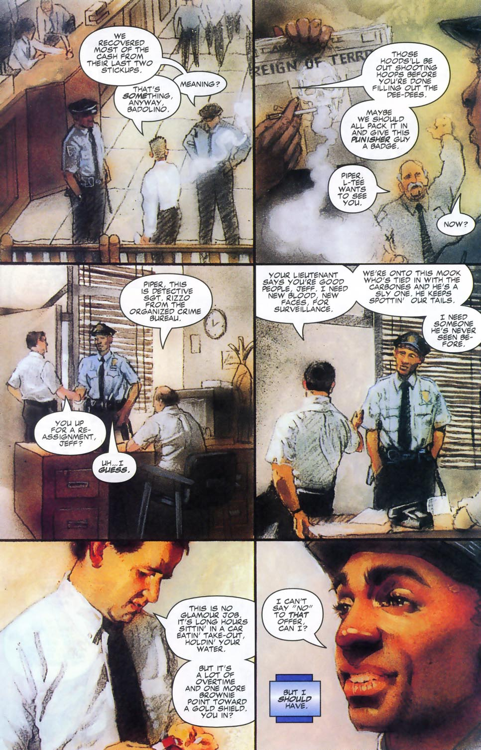 Read online Code of Honor comic -  Issue #2 - 15