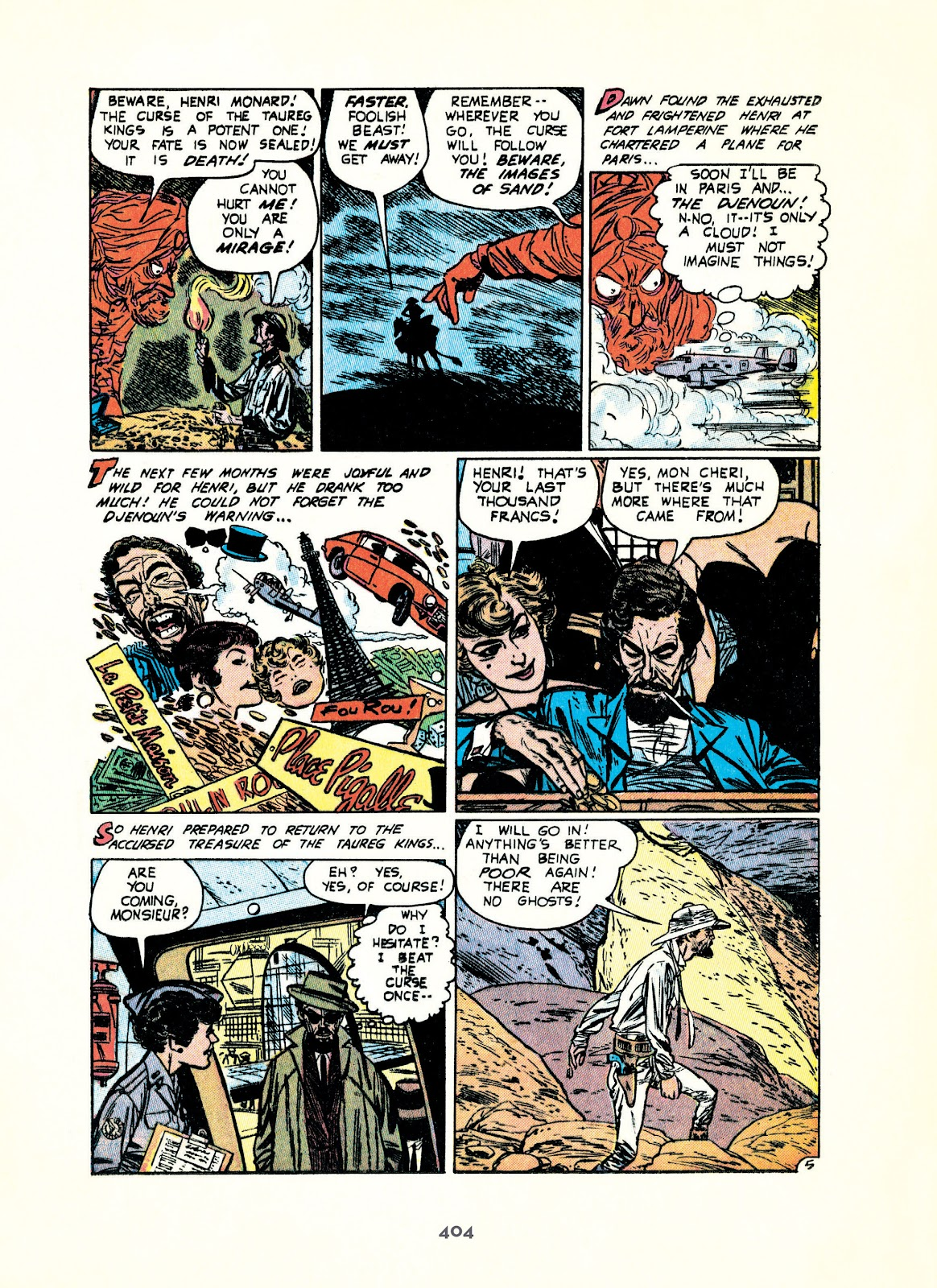 Read online Setting the Standard: Comics by Alex Toth 1952-1954 comic -  Issue # TPB (Part 4) - 105