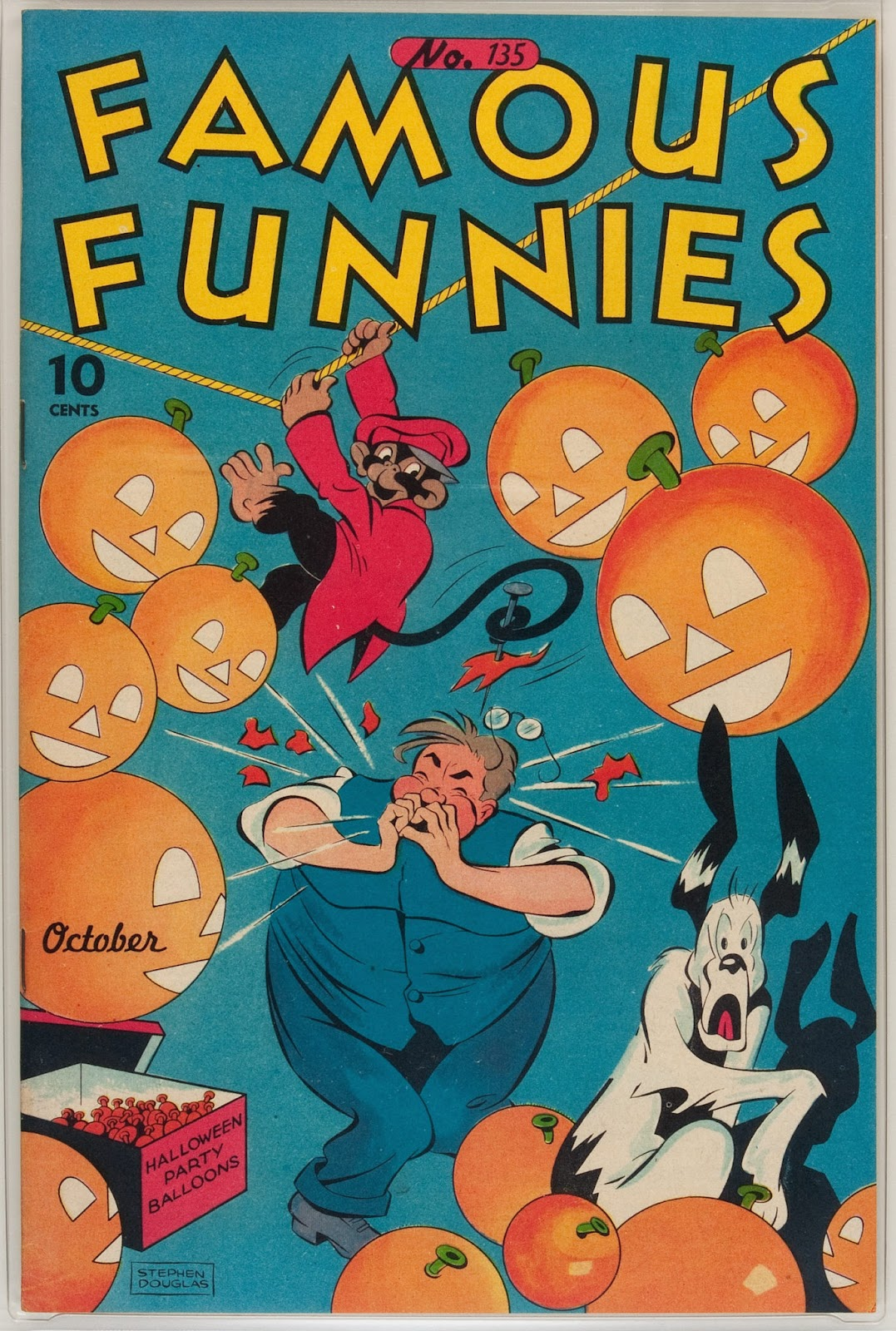 Read online Famous Funnies comic -  Issue #135 - 1