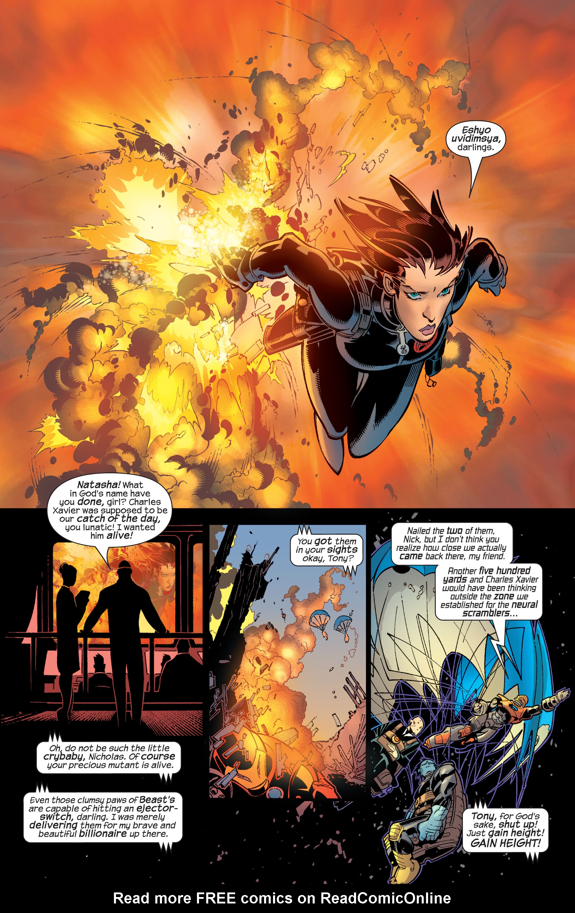 Read online Ultimate War comic -  Issue #4 - 14