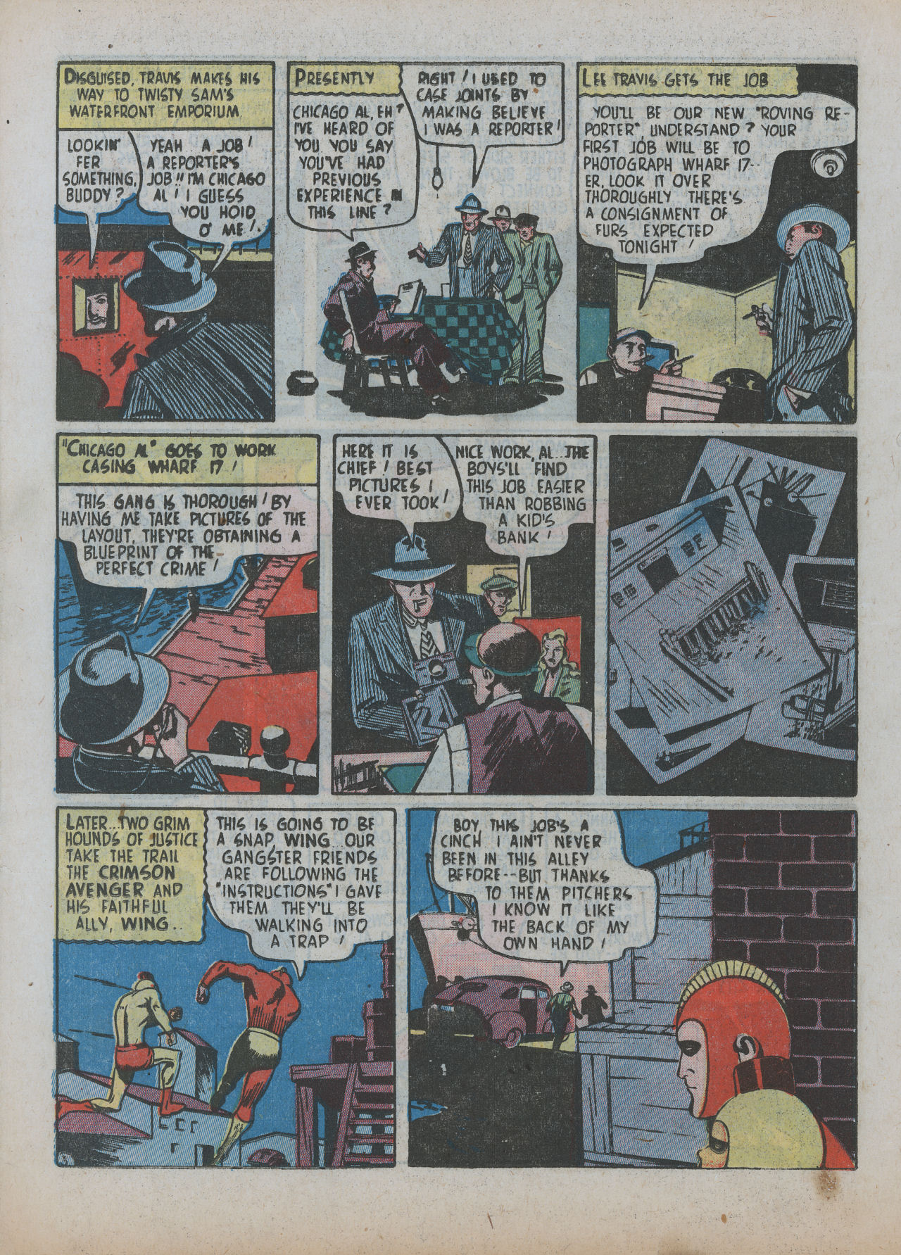 Read online Detective Comics (1937) comic -  Issue #63 - 34