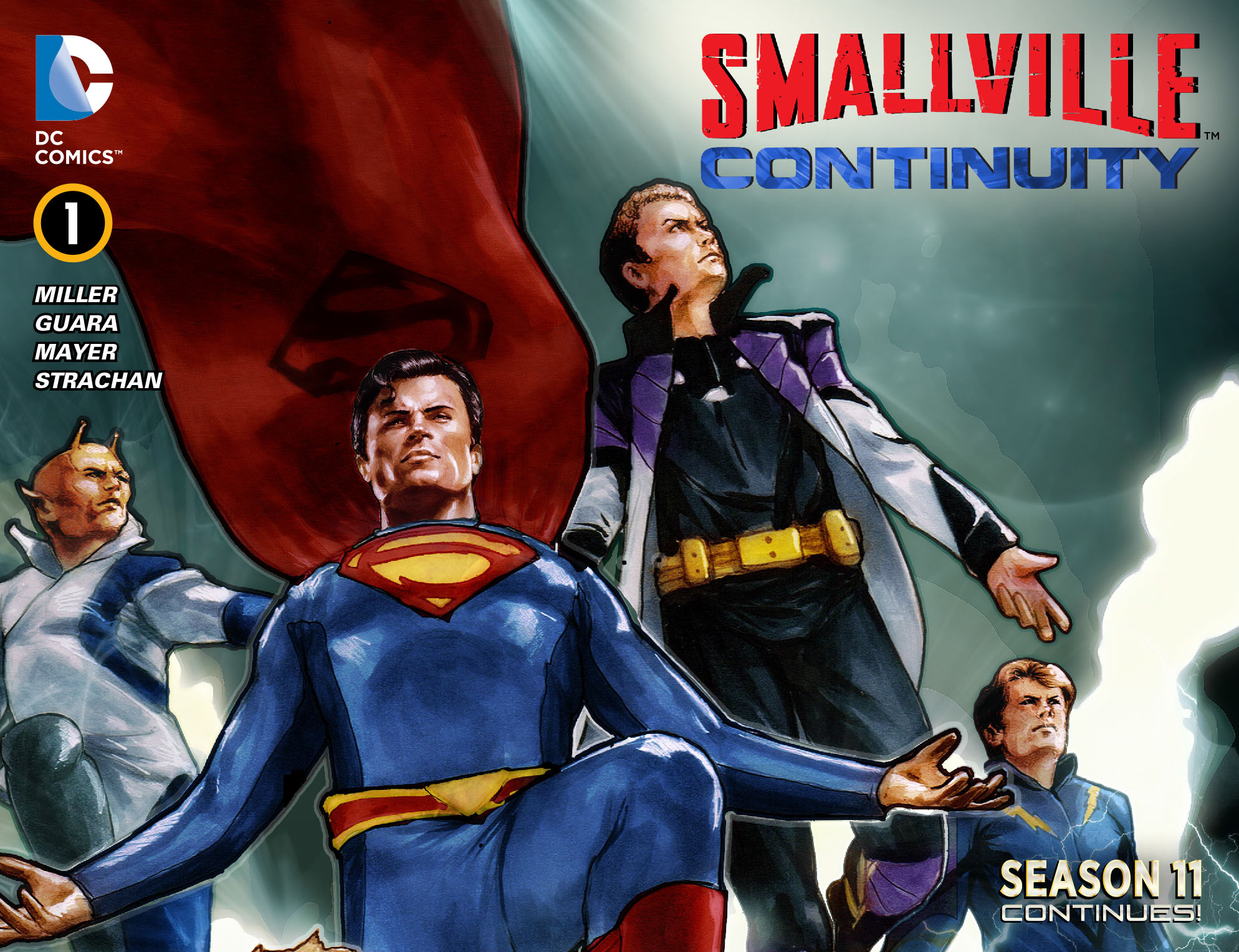 Read online Smallville: Continuity comic -  Issue #1 - 1