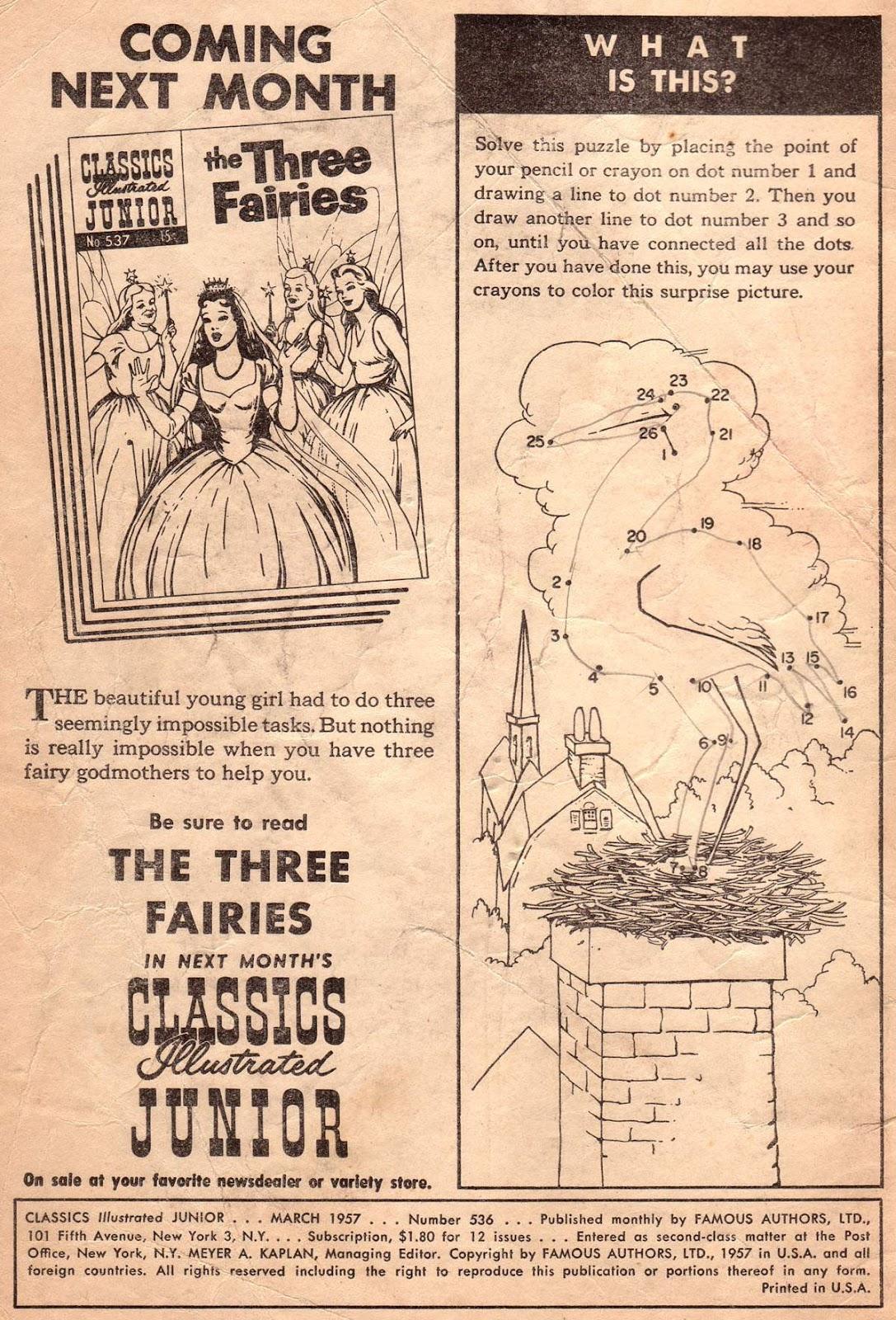 Classics Illustrated Junior 536 Page 2