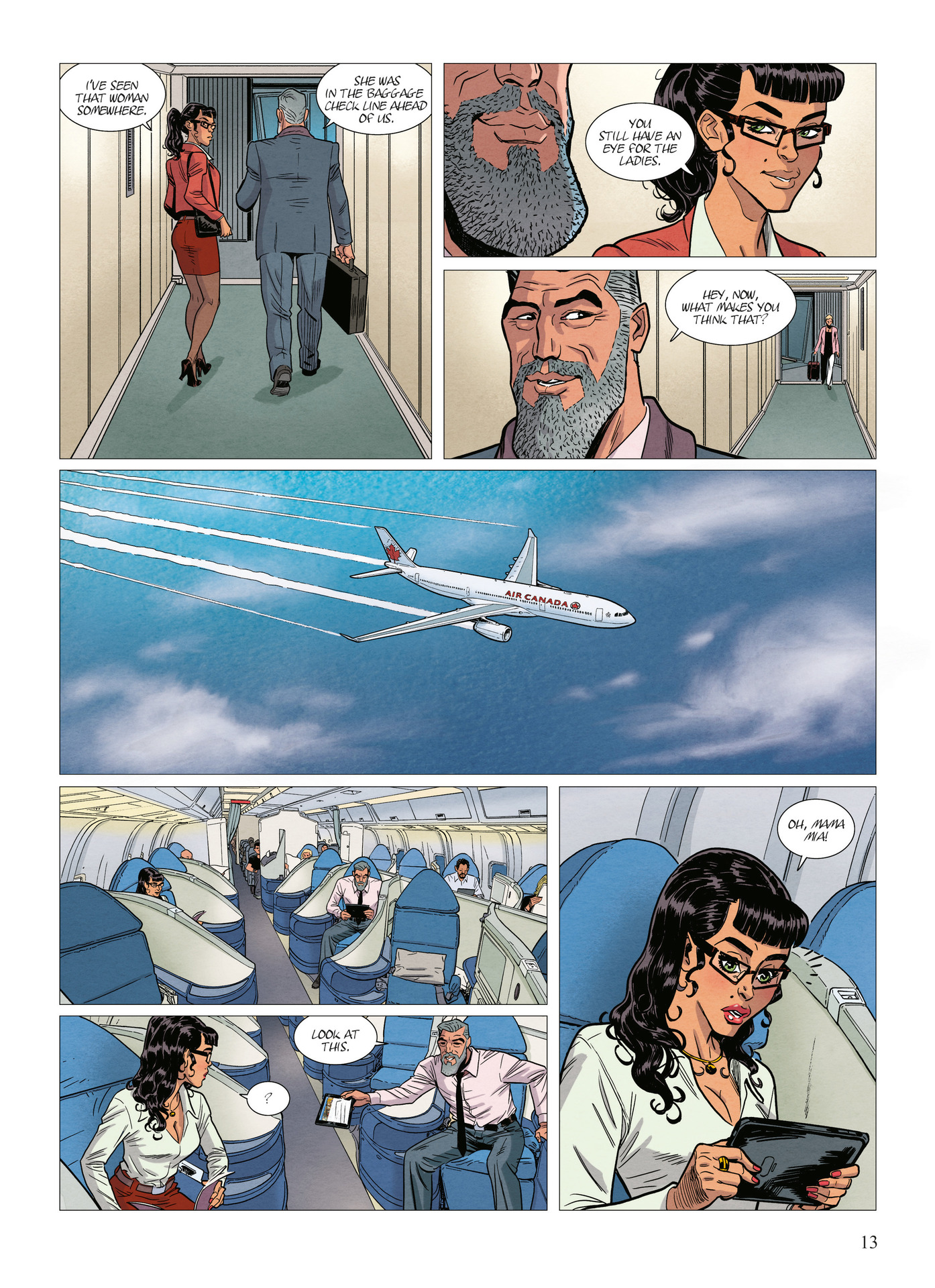 Read online Alter Ego comic -  Issue #10 - 14