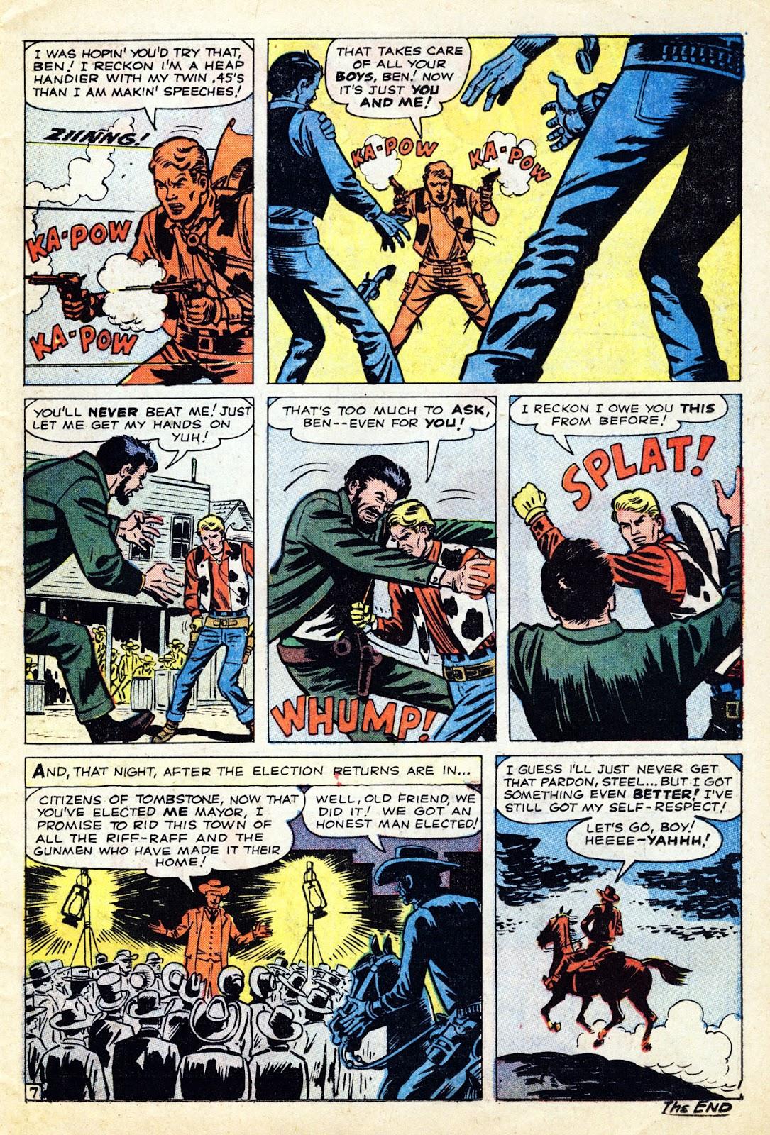 Gunsmoke Western issue 65 - Page 11