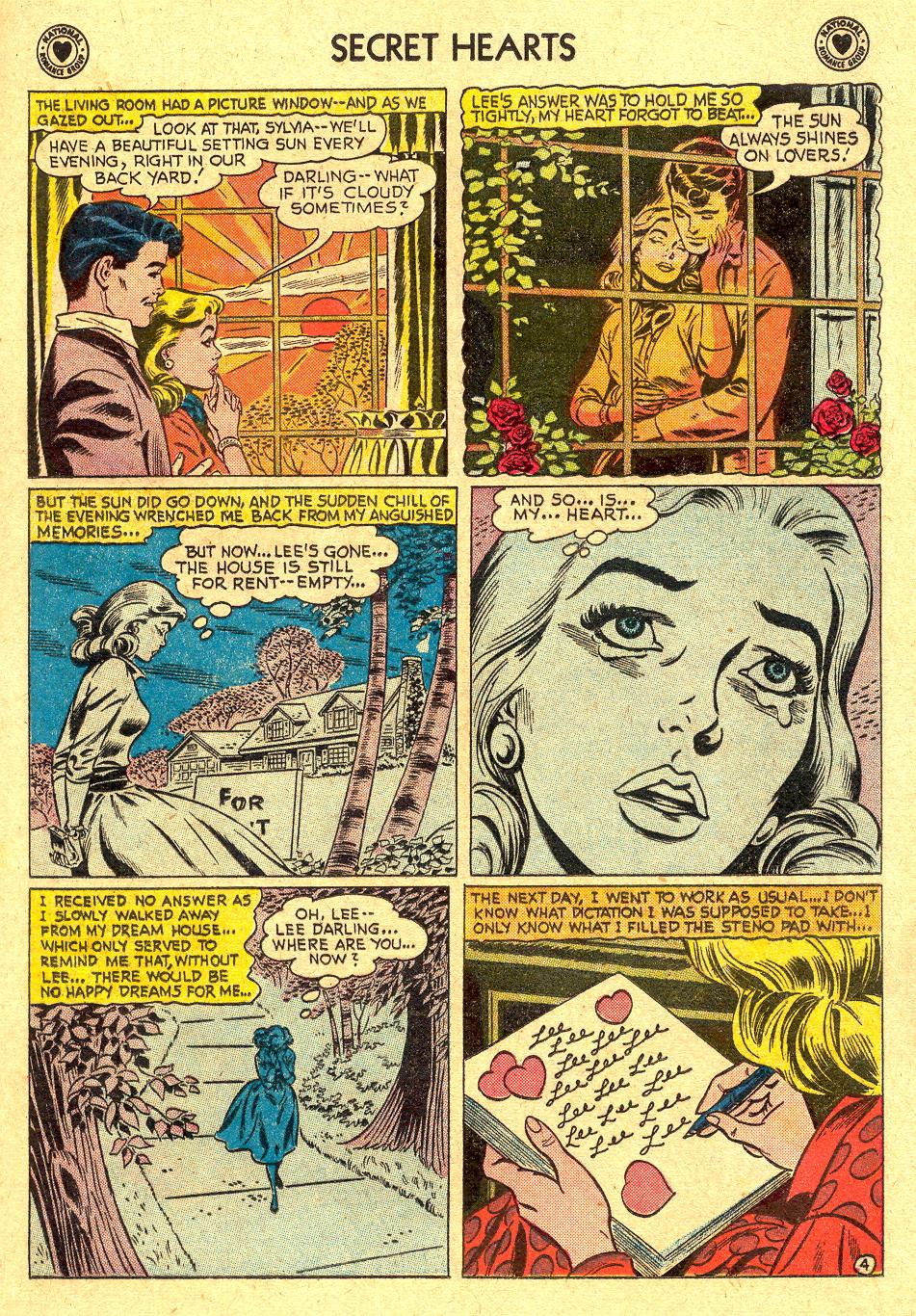 Read online Secret Hearts comic -  Issue #45 - 13