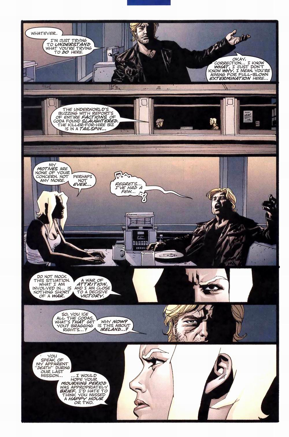 Wildcats (1999) Issue #27 #28 - English 6
