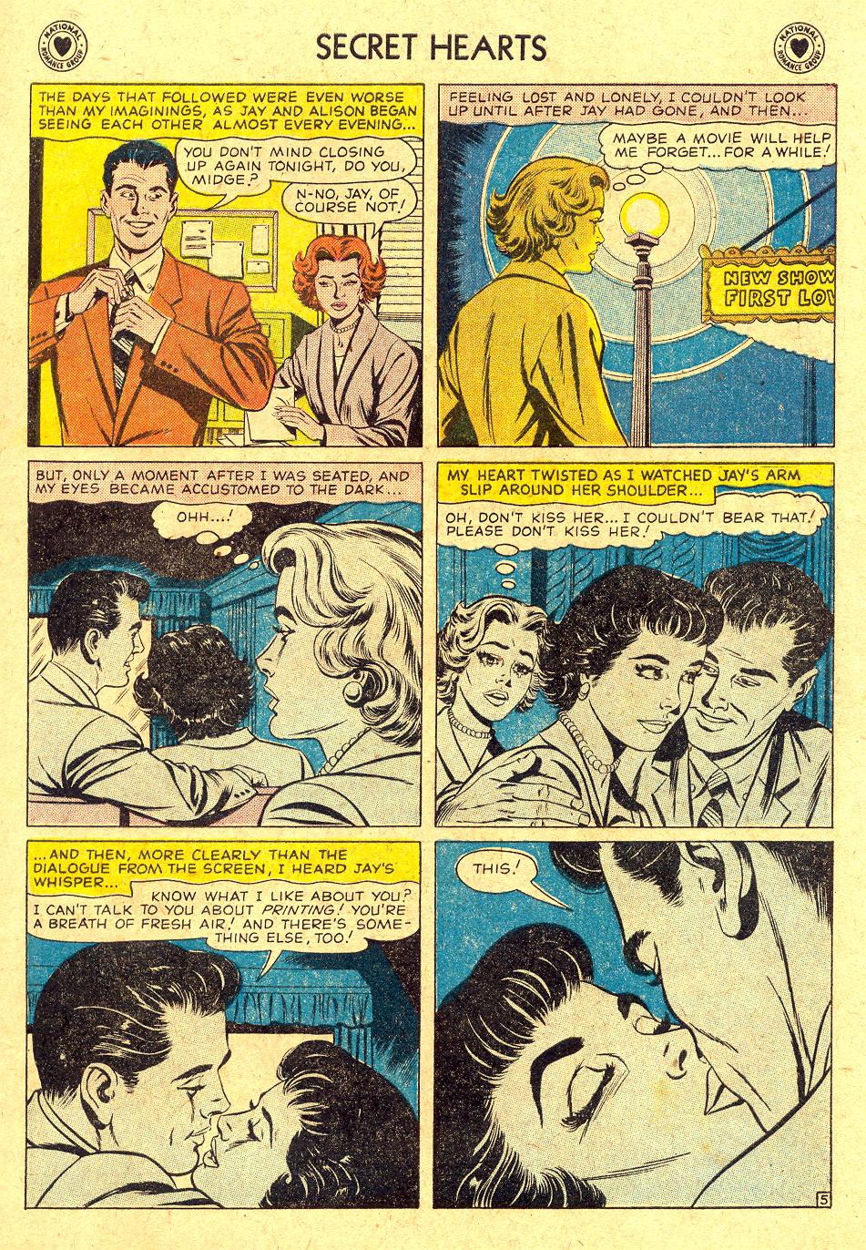 Read online Secret Hearts comic -  Issue #45 - 7