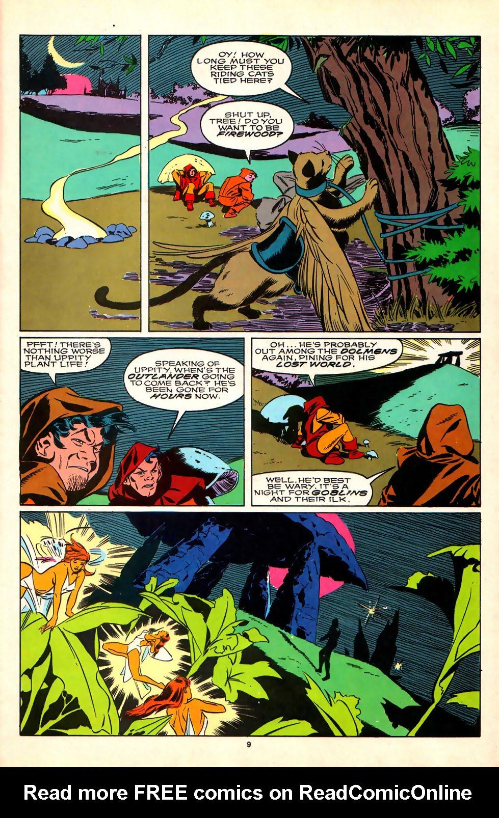 Read online Alpha Flight (1983) comic -  Issue #81 - 8