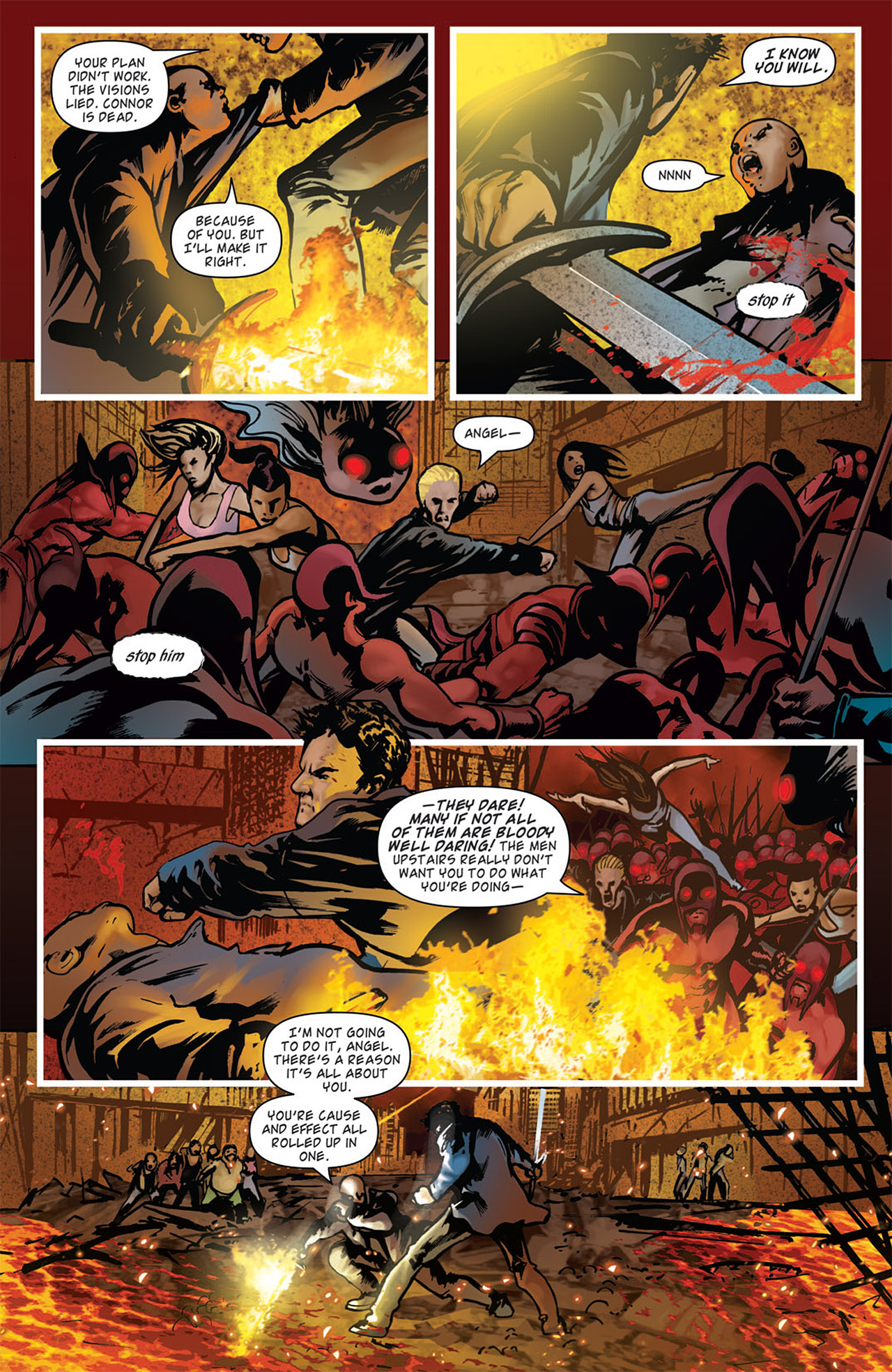 Read online Angel: After The Fall comic -  Issue #16 - 9