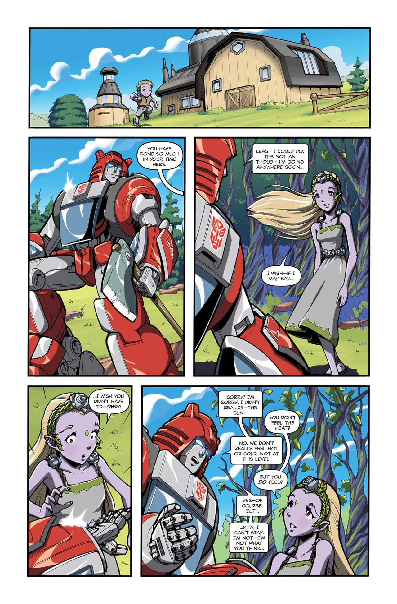 Read online Transformers Spotlight: Cliffjumper comic -  Issue # Full - 12