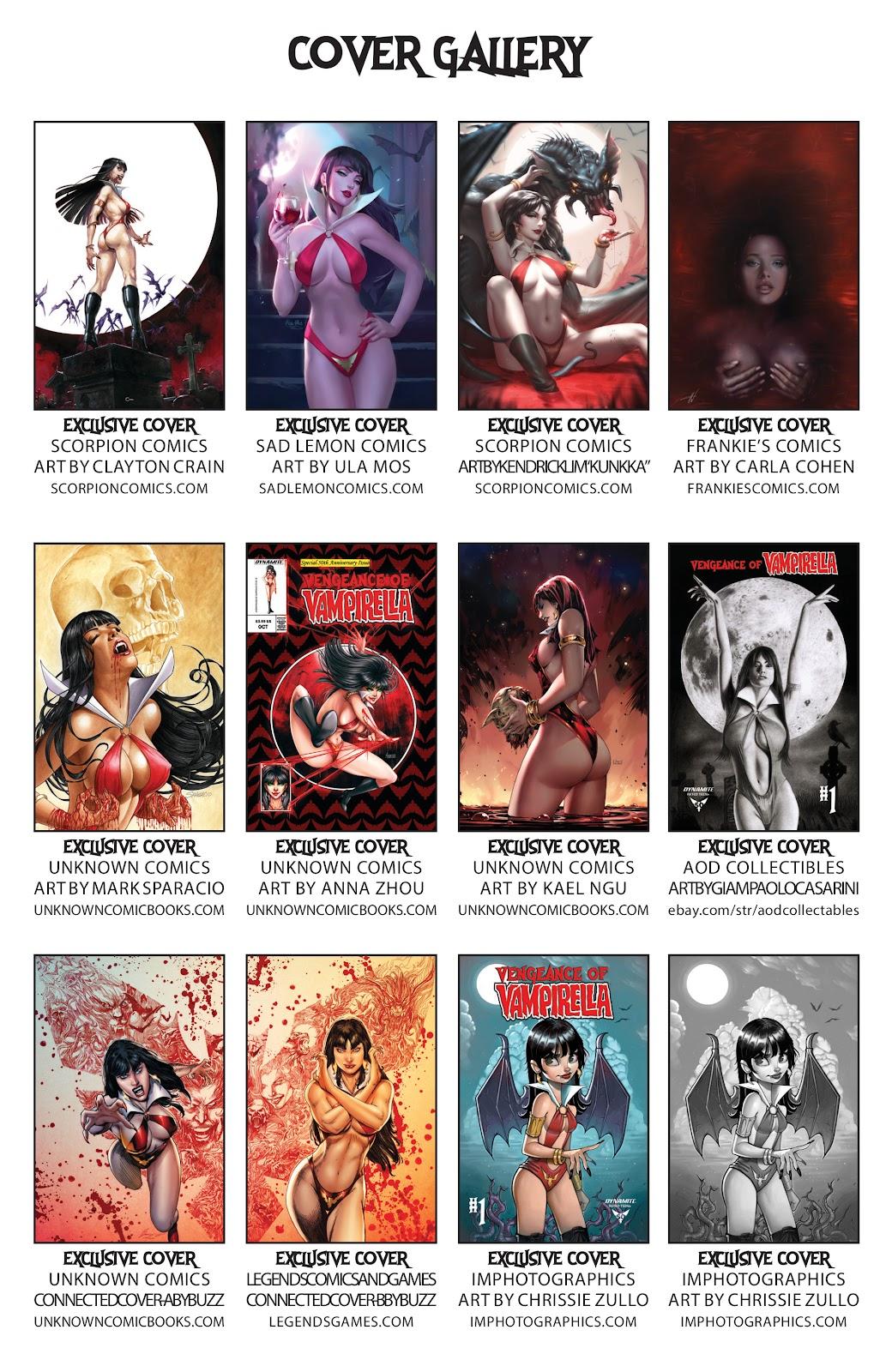 Read online Vengeance of Vampirella (2019) comic -  Issue #1 - 32