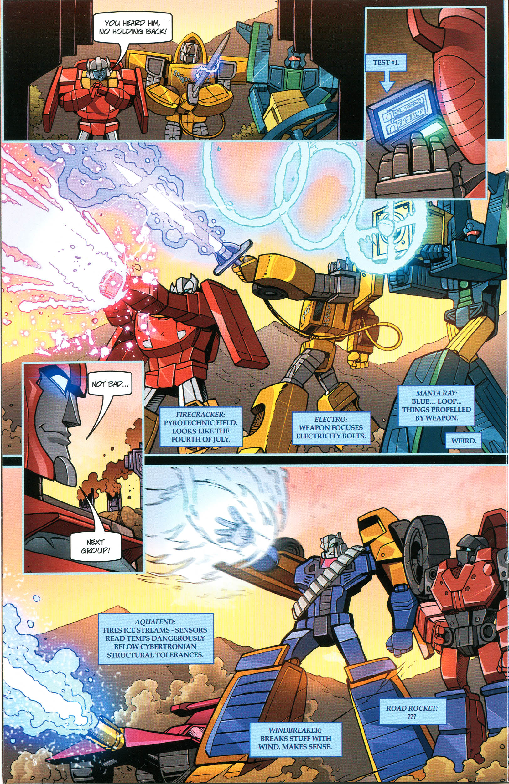 Read online Transformers: Collectors' Club comic -  Issue #44 - 8