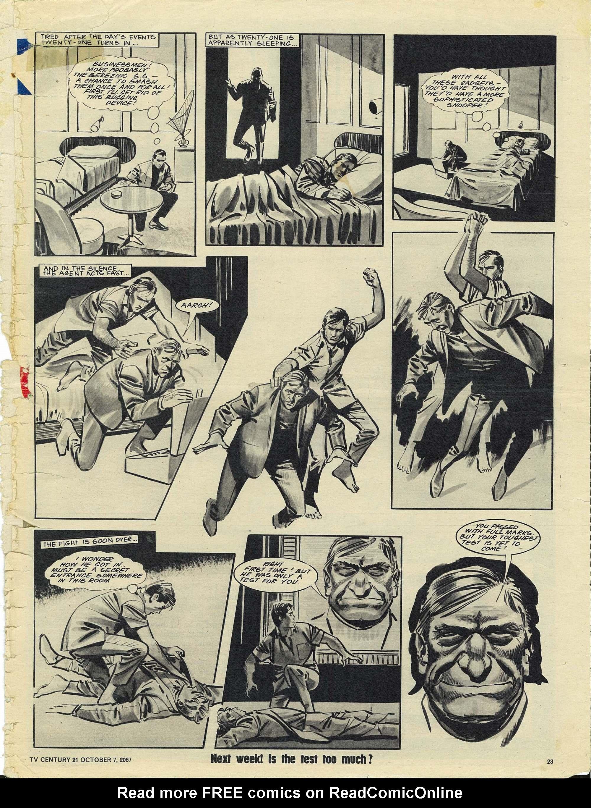 Read online TV Century 21 (TV 21) comic -  Issue #142 - 22