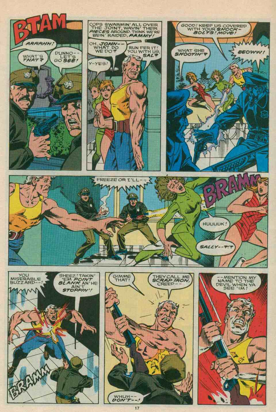 Read online DP7 comic -  Issue #21 - 18