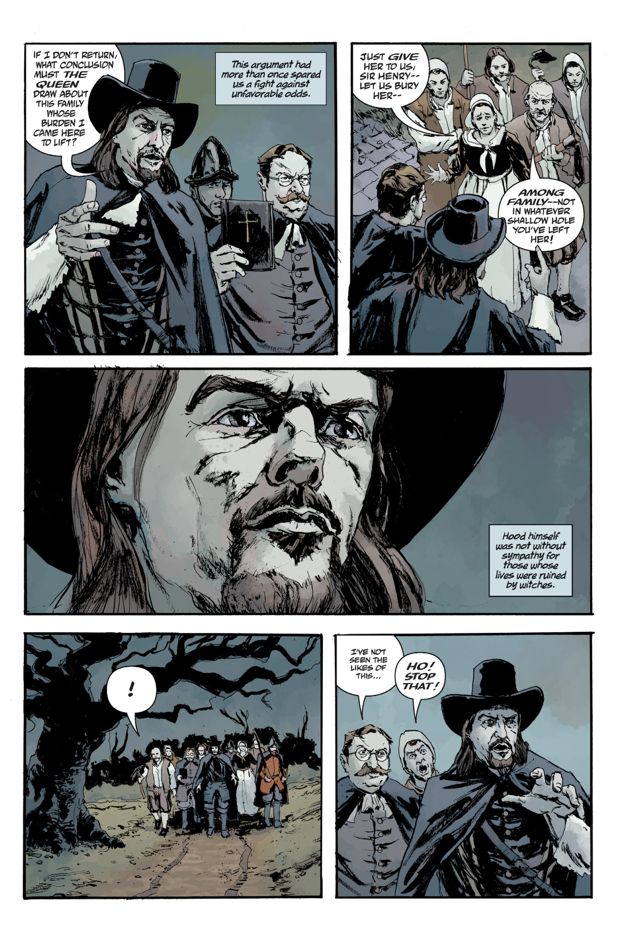 Read online Sir Edward Grey, Witchfinder: In the Service of Angels comic -  Issue # TPB - 137