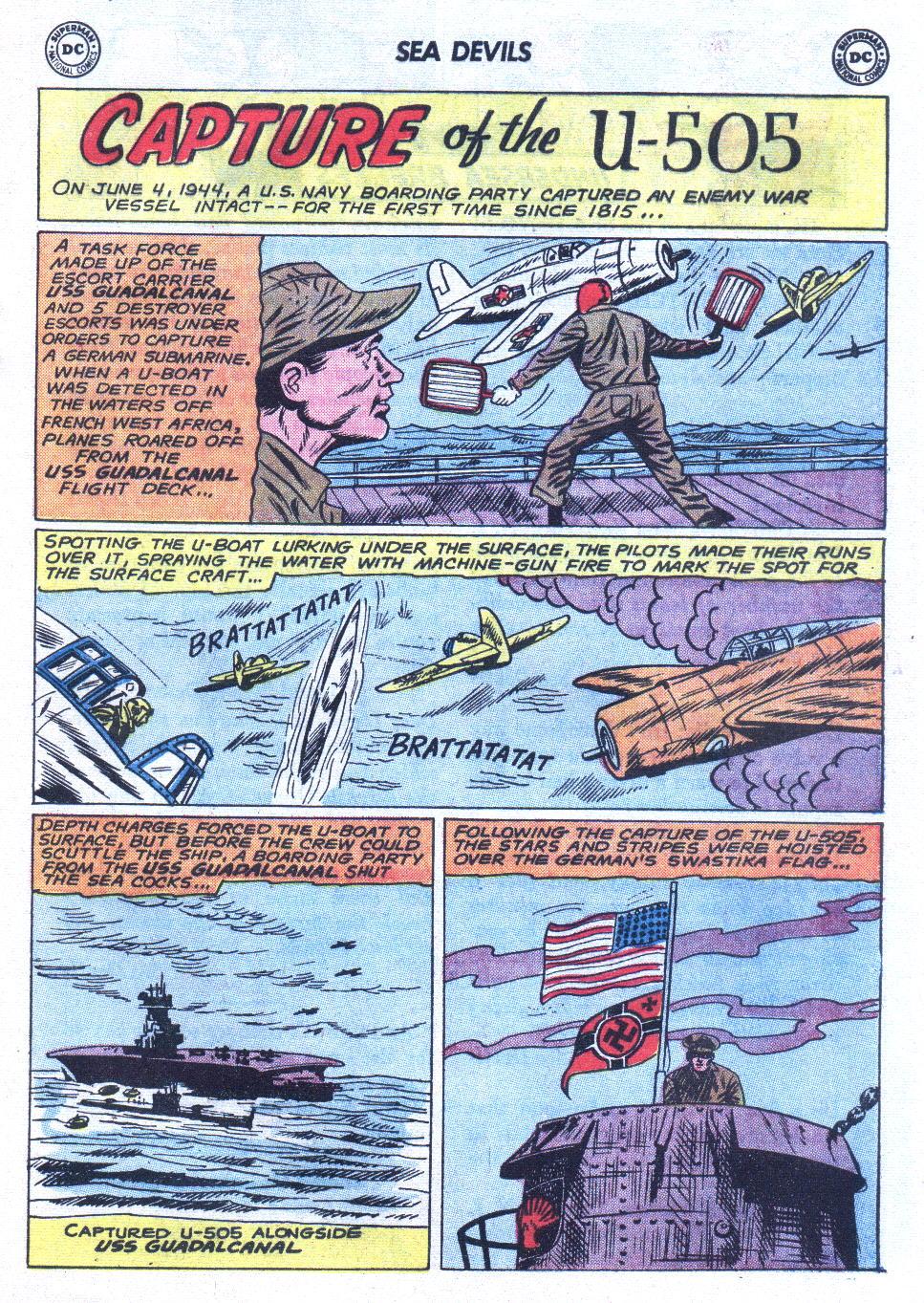 Read online Sea Devils comic -  Issue #6 - 18