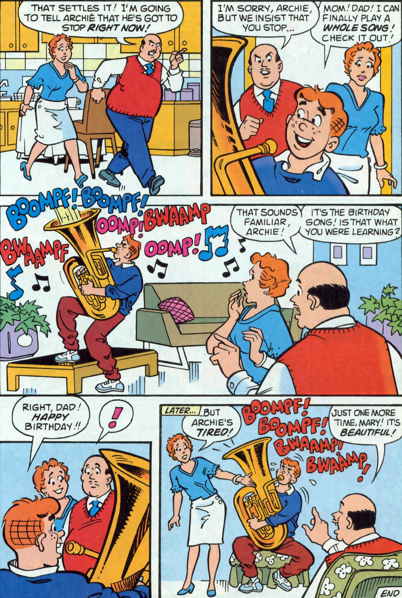Read online Archie (1960) comic -  Issue #477 - 19