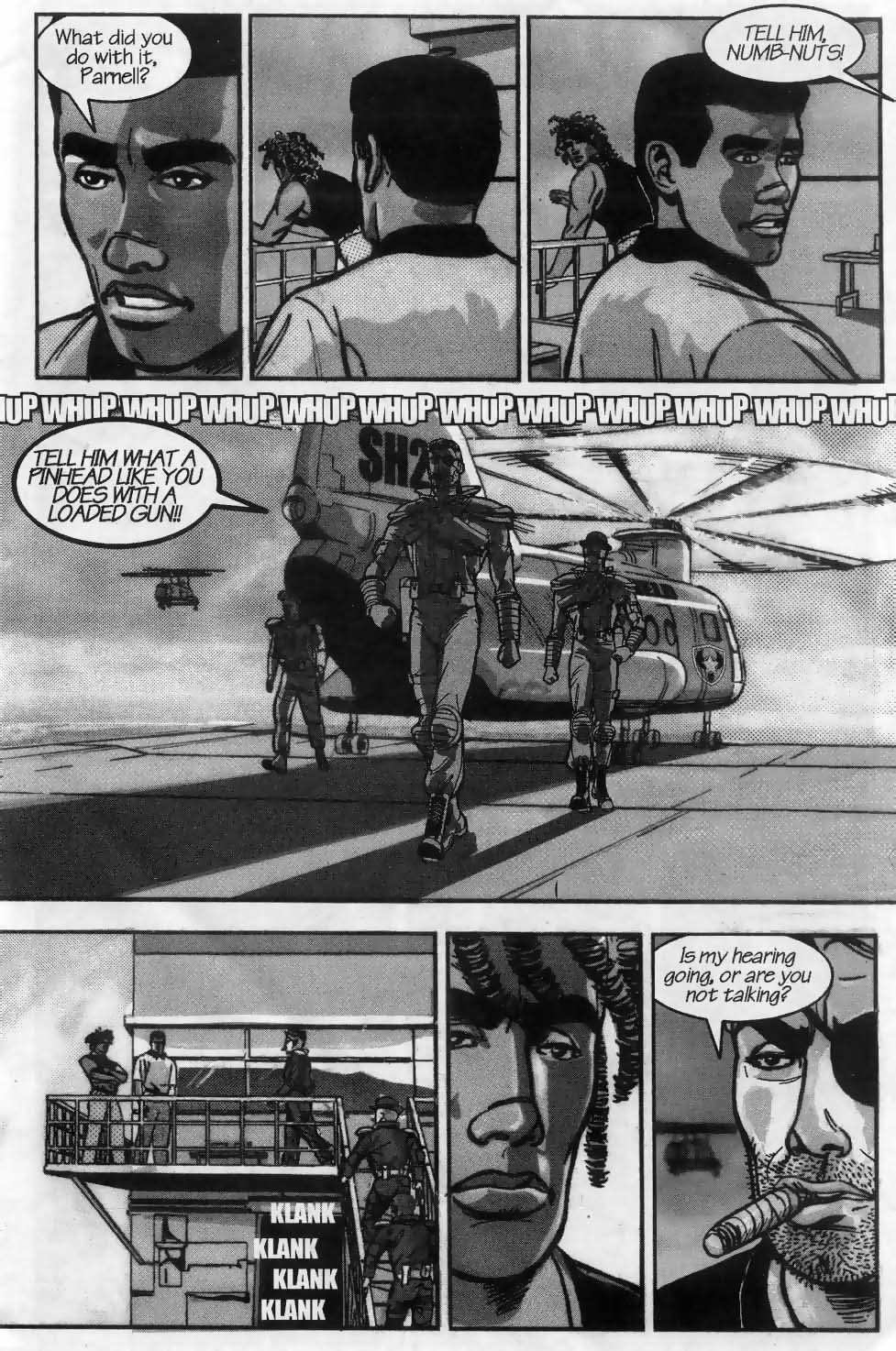 Read online U.S. War Machine comic -  Issue #3 - 6