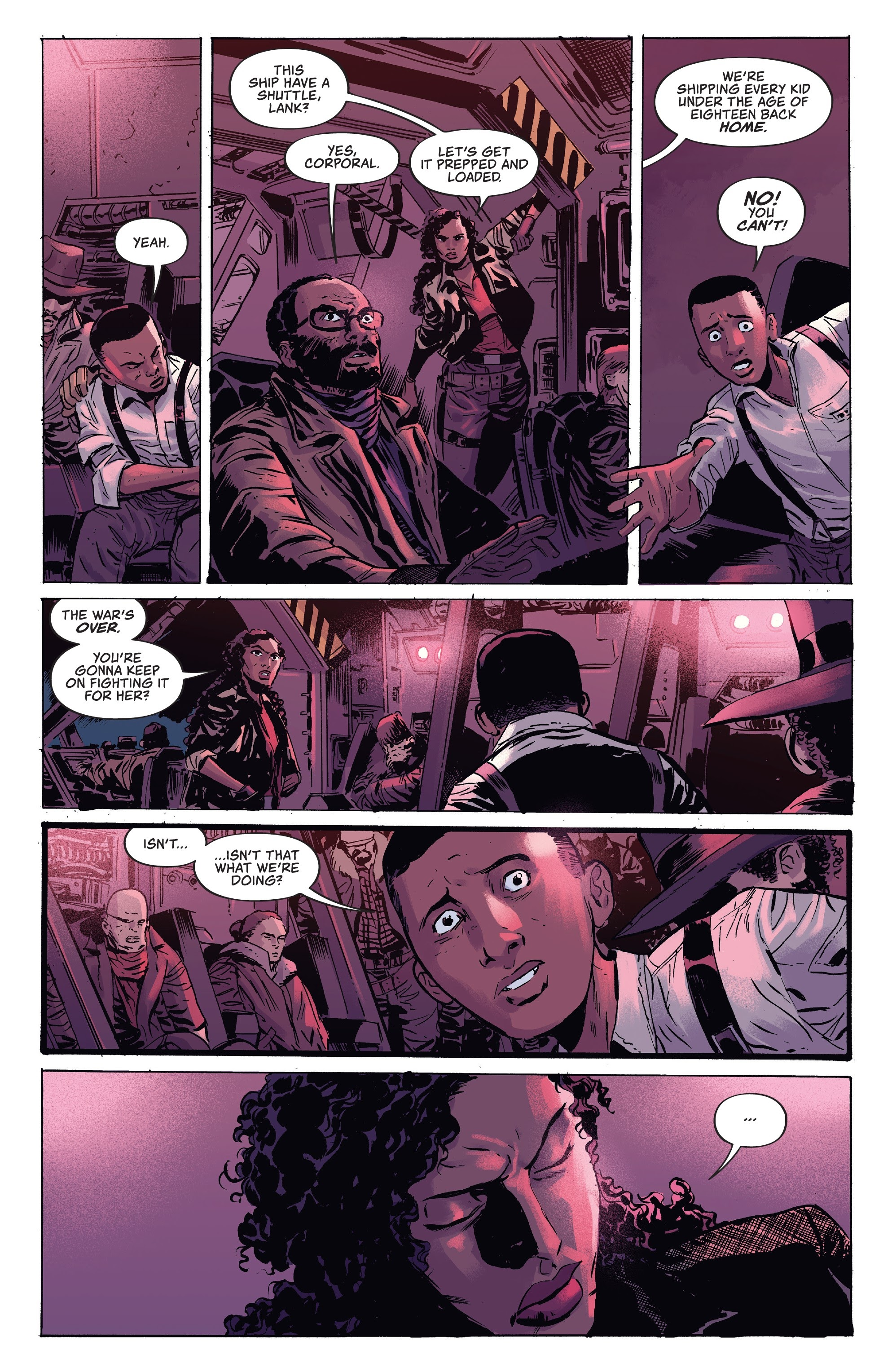 Read online Firefly comic -  Issue #7 - 16