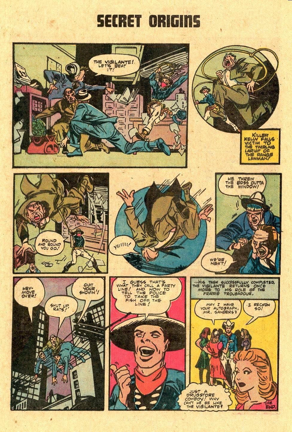 Read online Secret Origins (1973) comic -  Issue #4 - 12