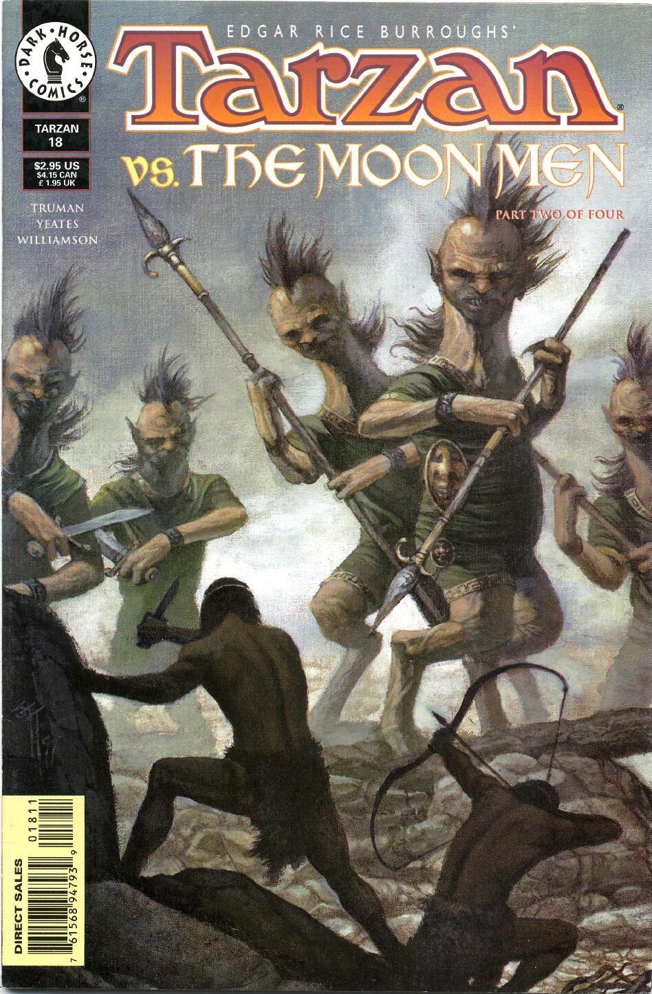 Tarzan (1996) issue 18 - Page 1
