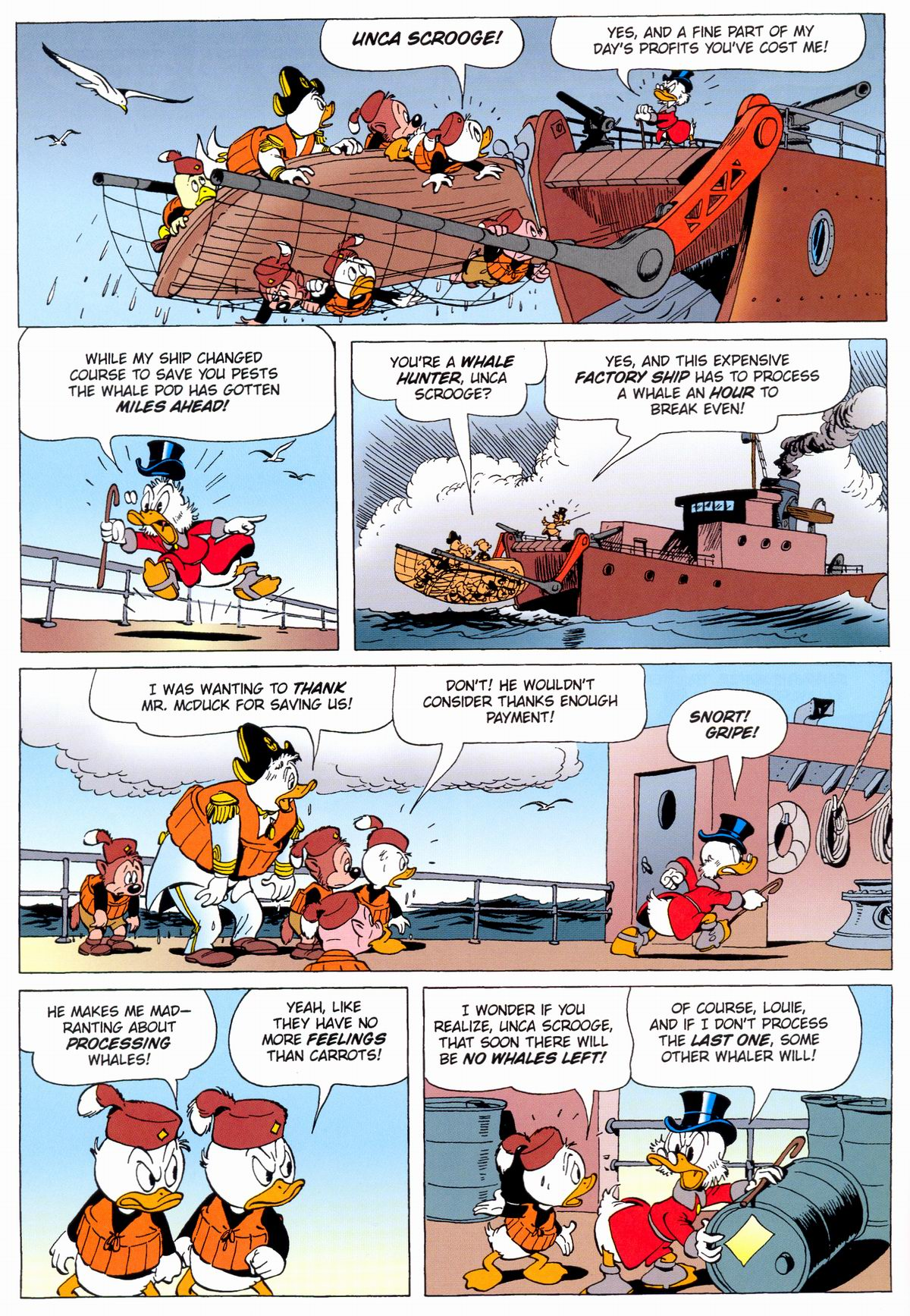Read online Uncle Scrooge (1953) comic -  Issue #331 - 36