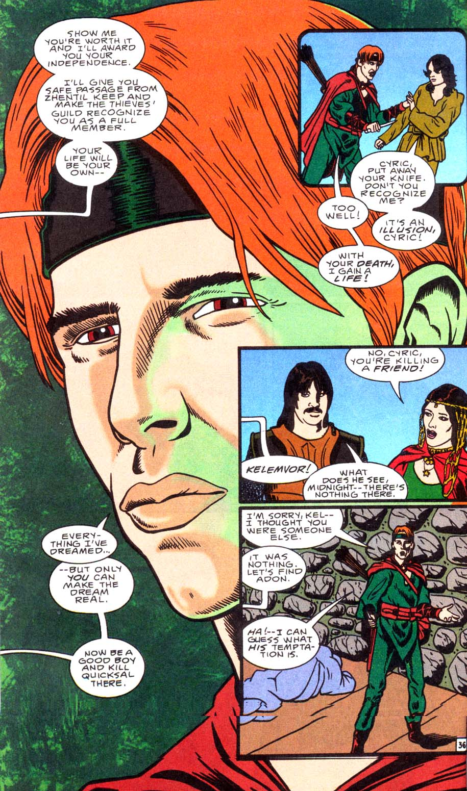 Read online Avatar comic -  Issue #1 - 36