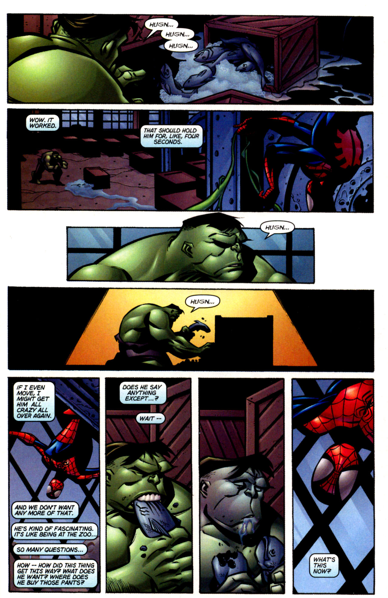 Read online Ultimate Marvel Team-Up comic -  Issue #3 - 19