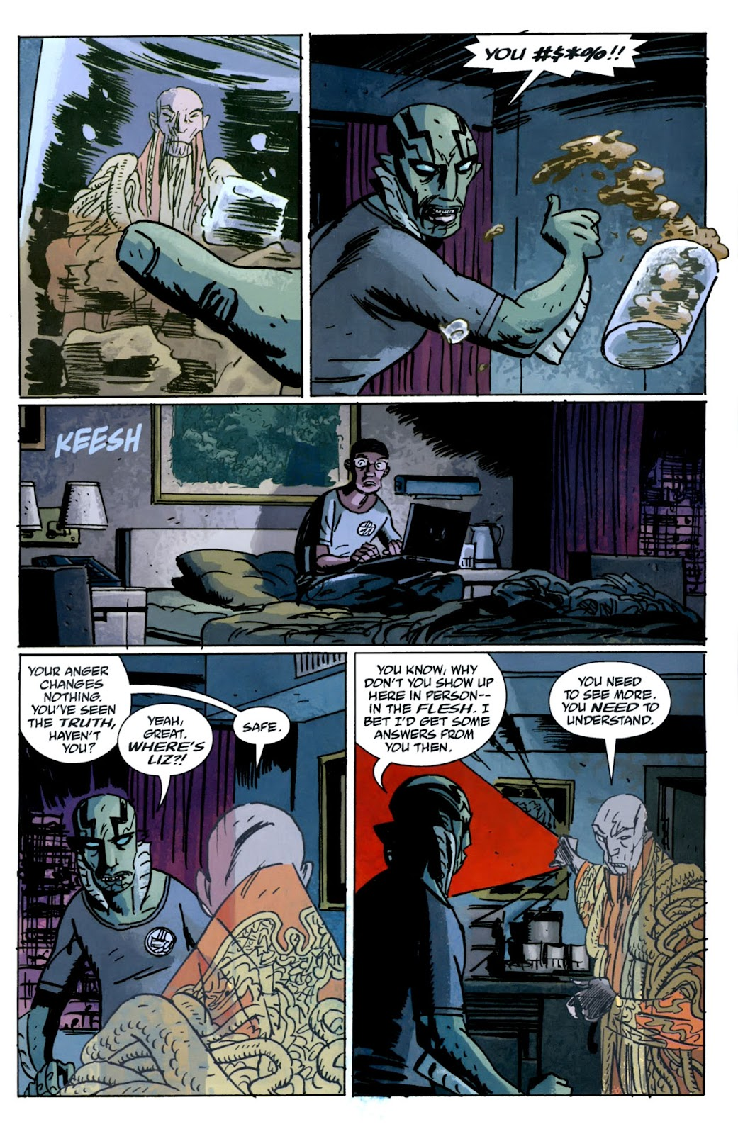 B.P.R.D.: The Warning issue 5 - Page 19